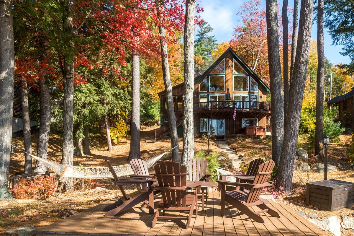 Property Image 1 - Tranquil Lakefront Home with Private Dock and Fire Pit