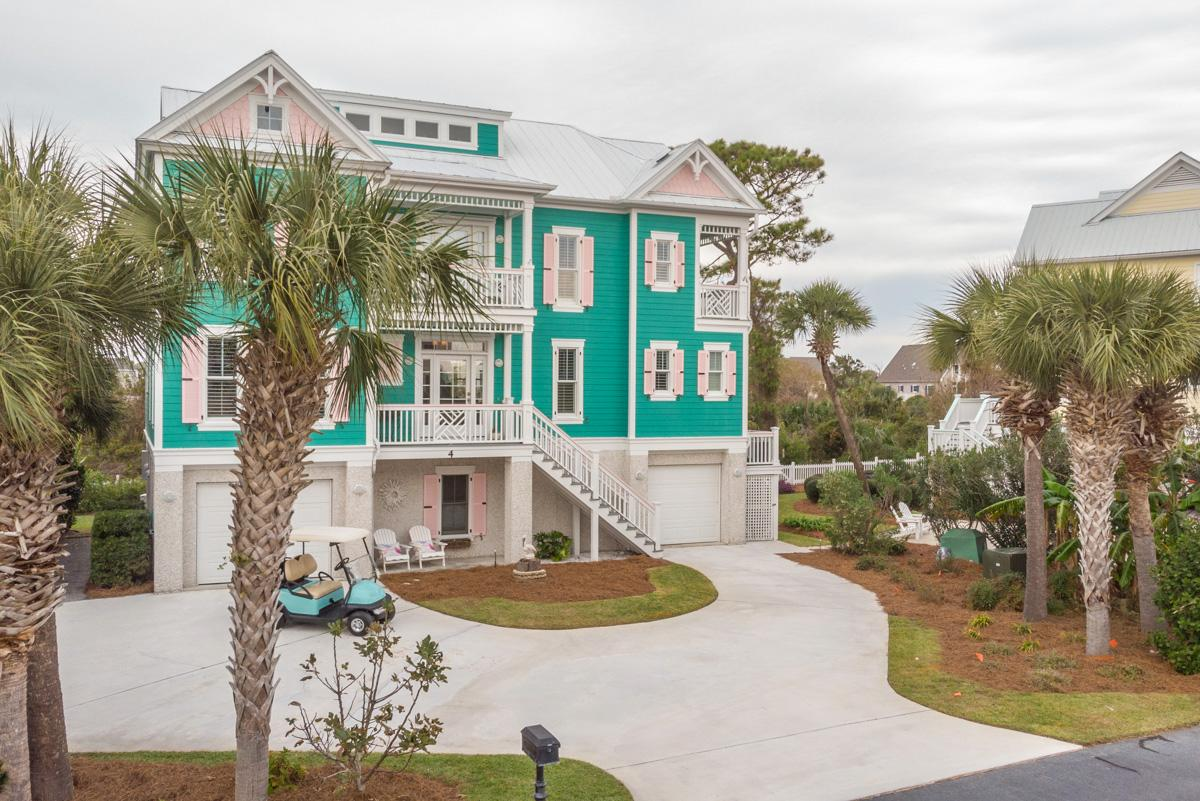 Upscale, Custom-Built Home with Beach and Marsh Views