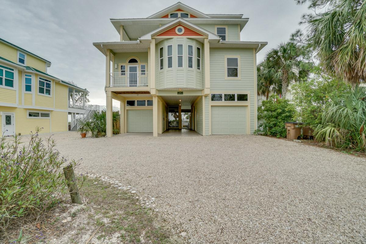 Elegant Gulf-Front Home with Private Boardwalk and Pool