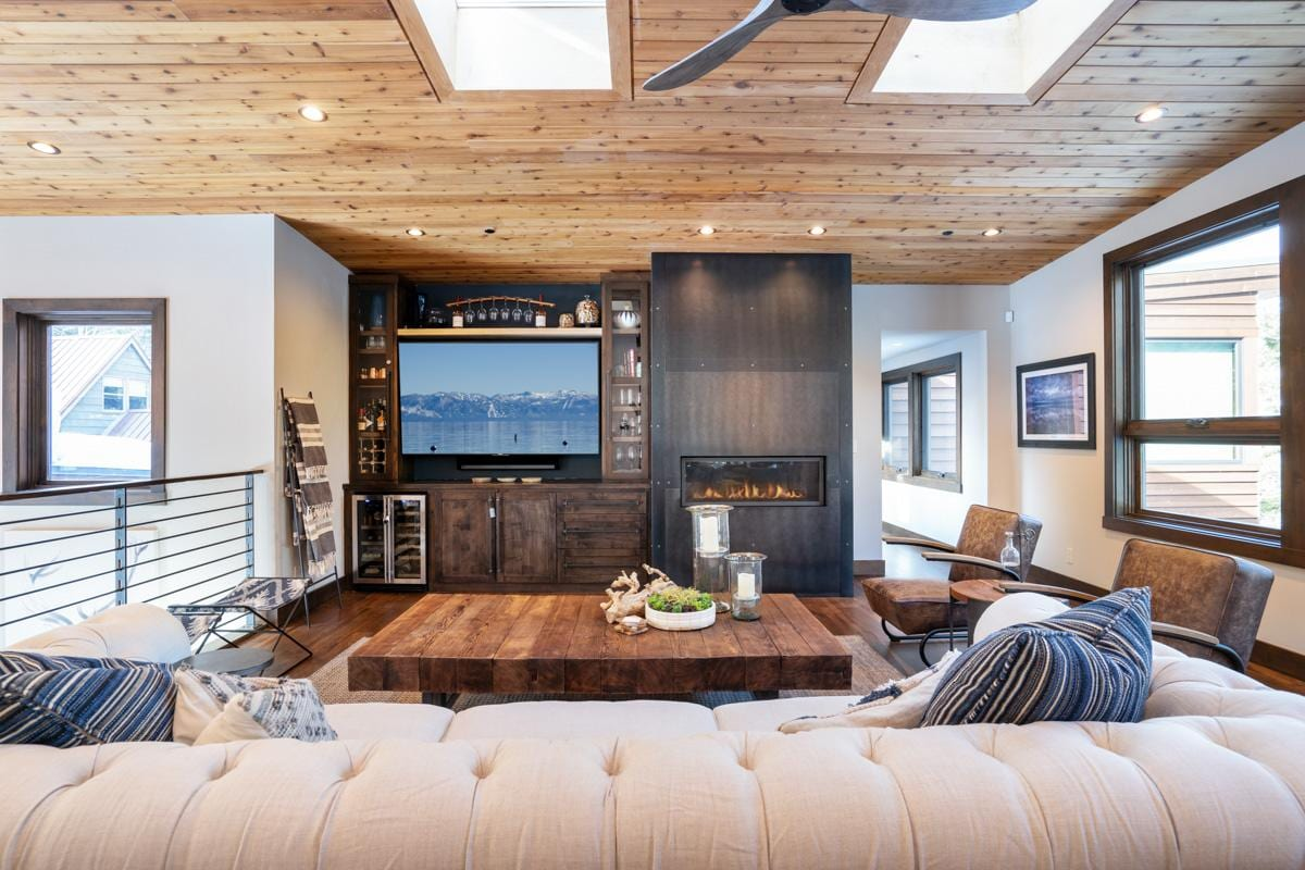 Newly Constructed, Alpine Chic Home with Private Hot Tub Steps from the Beach