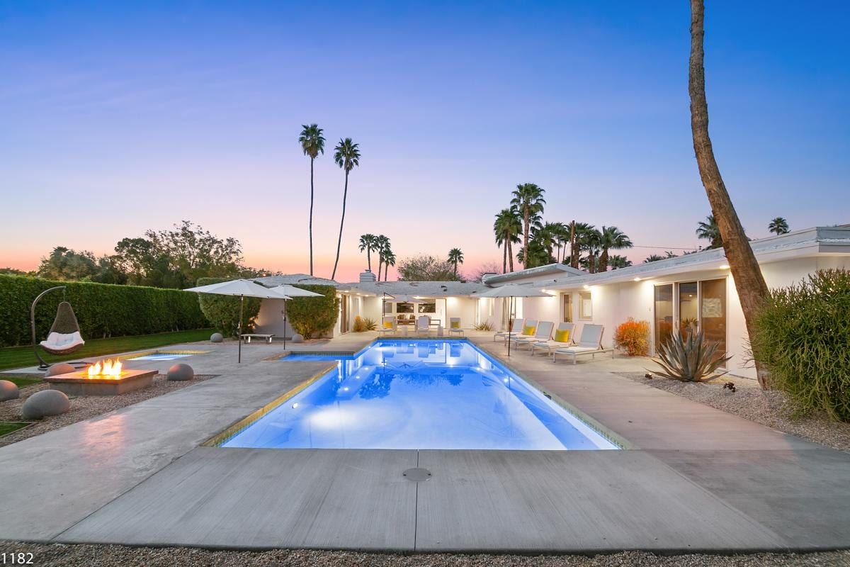 Property Image 1 - Sunny, Mid-Century Home with Pool in the Movie Colony