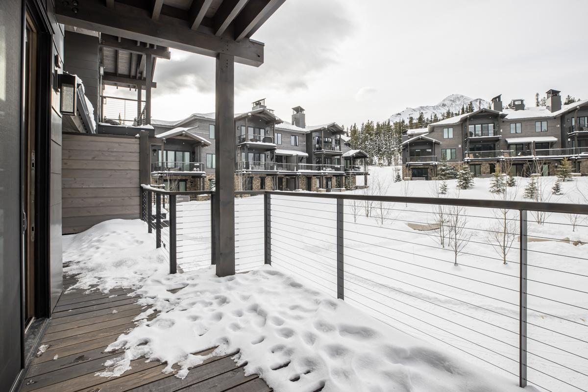 Slopeside Condo with Modern Decor and Private Hot Tub