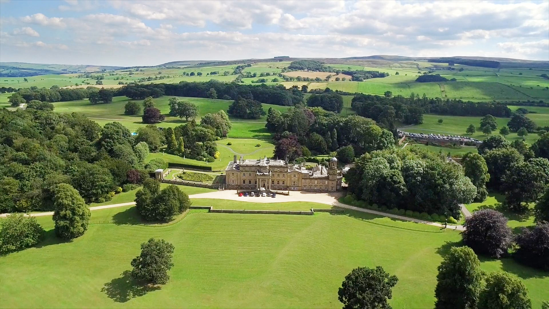 Grand Stately Home in 3,000-acre North England Estate