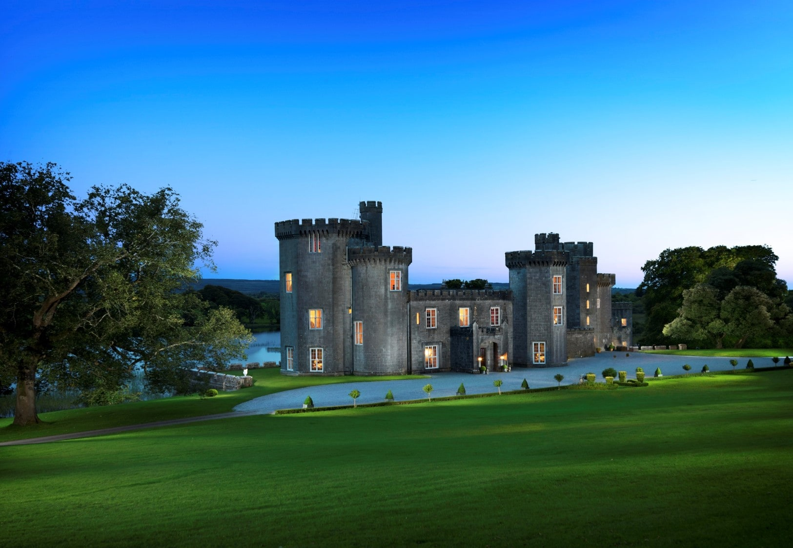Property Image 1 - Historic Castle in Galway with Gardens and Private Lake