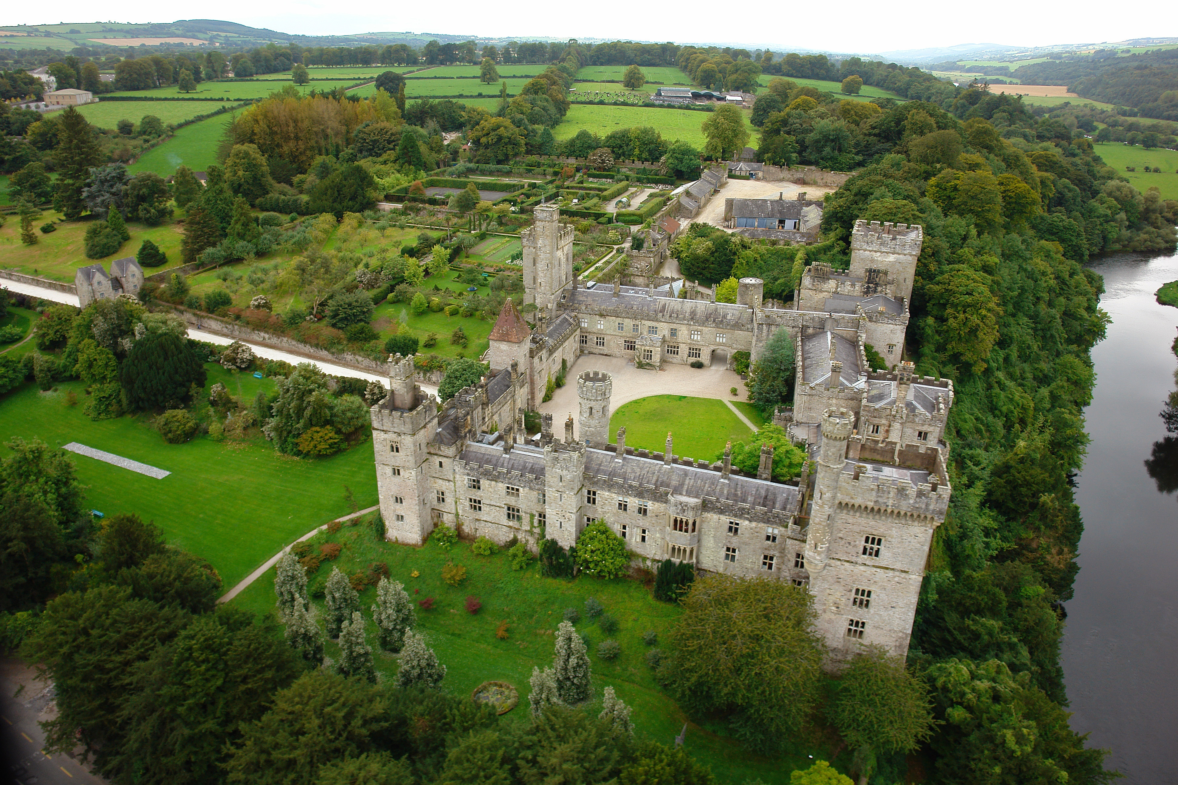 Property Image 1 - Opulent, Refurbished Irish Castle that Sleeps 27