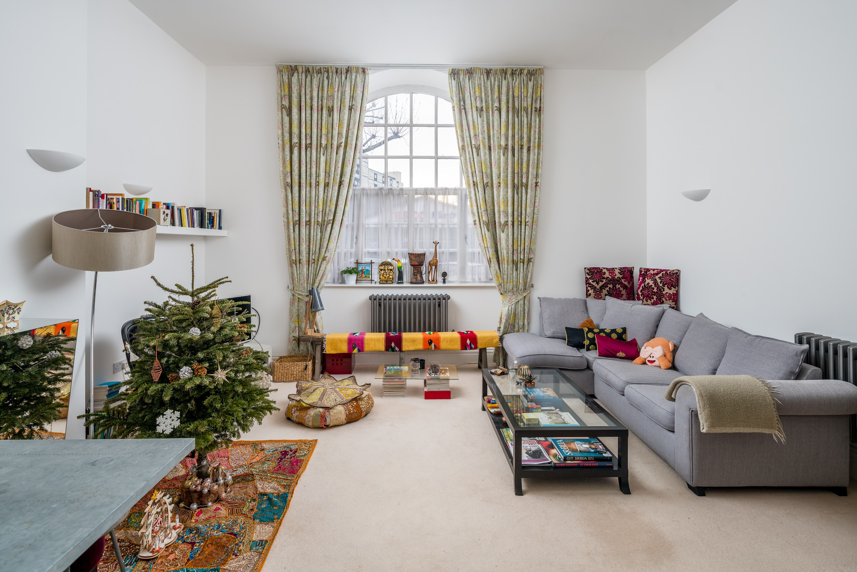 Spacious and Stunning 1-bed Battersea Park Flat