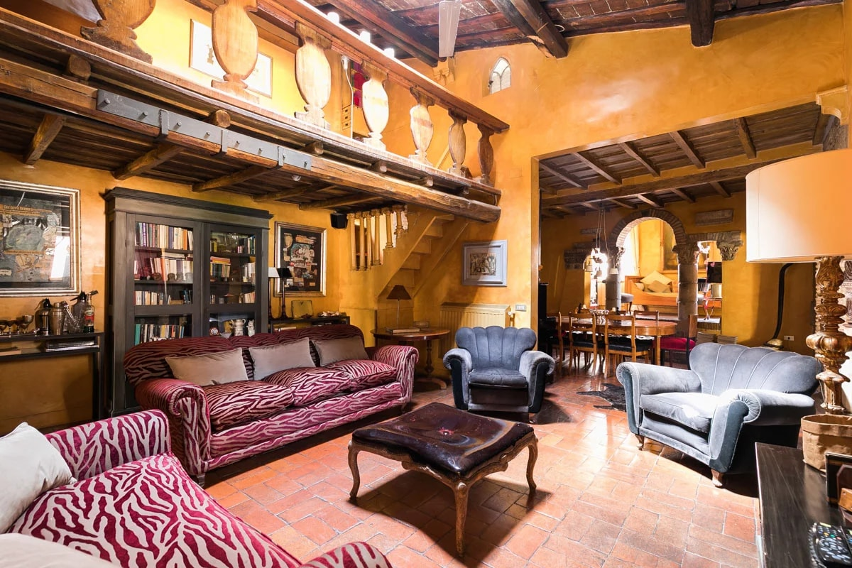 Property Image 1 - Trastevere Large Apartment with Terrace