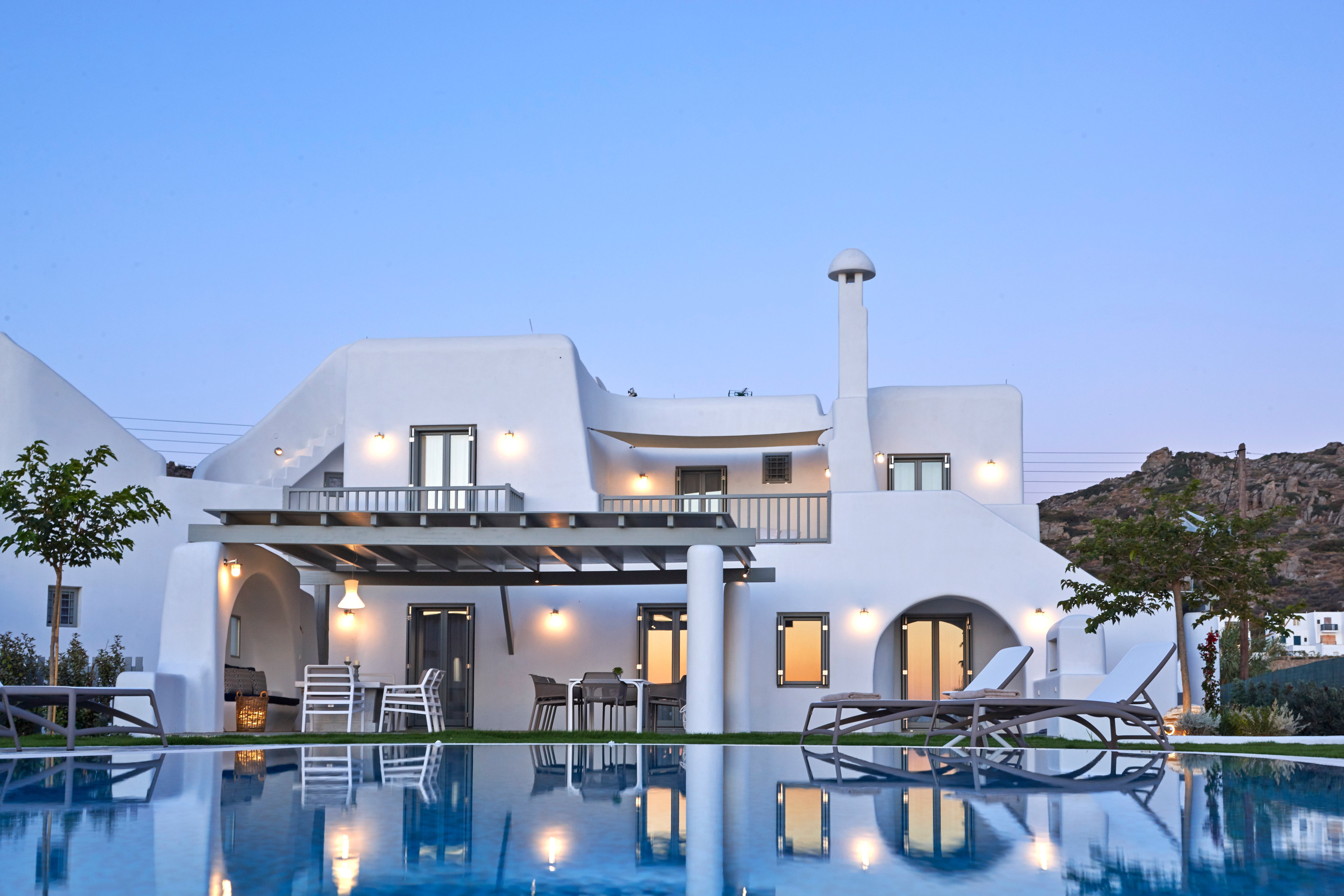 Property Image 2 - Classic Greek Luxury Villa with Private Pool