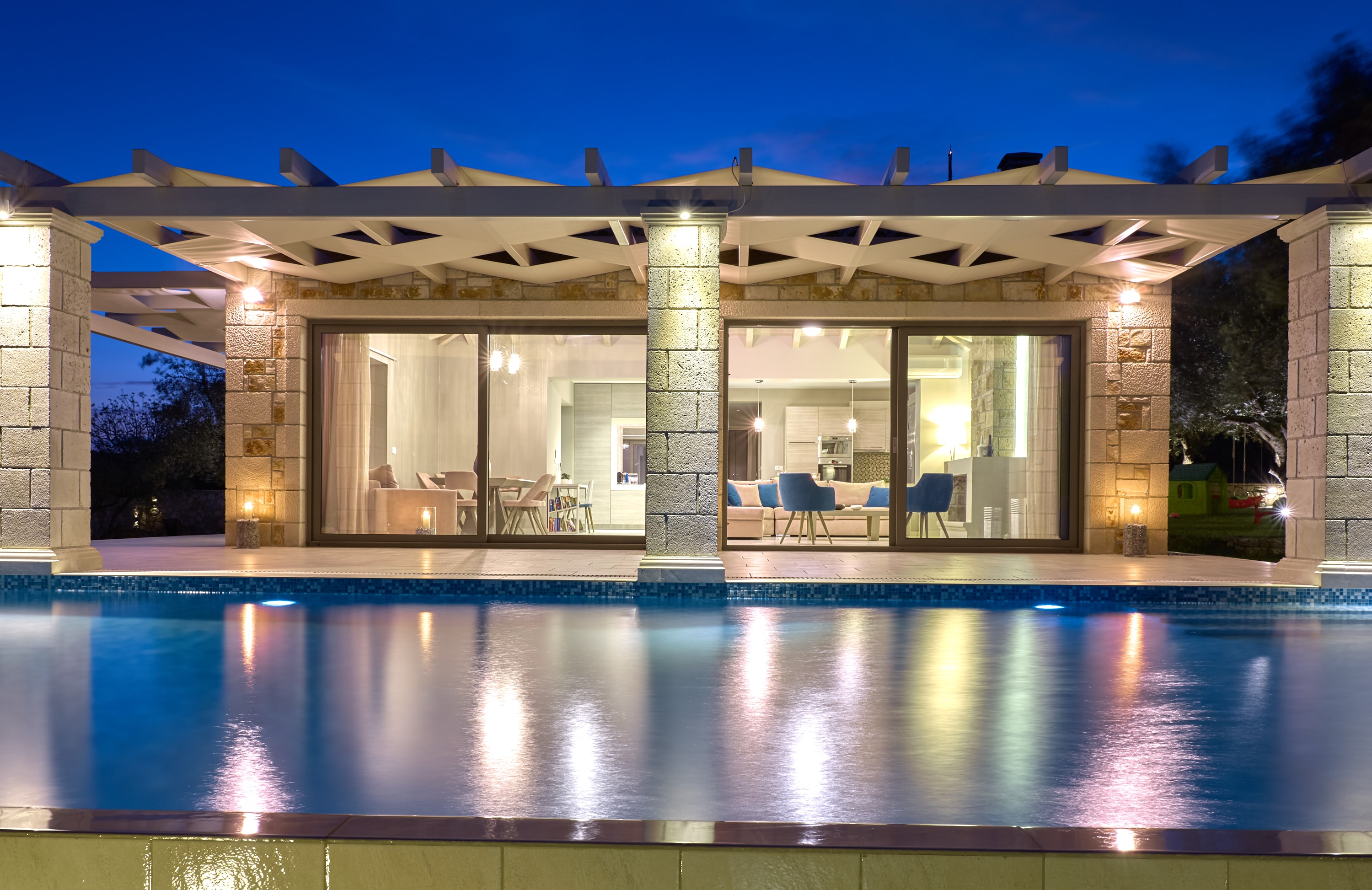 Property Image 1 - Luxury Stone Villa with Private Pool