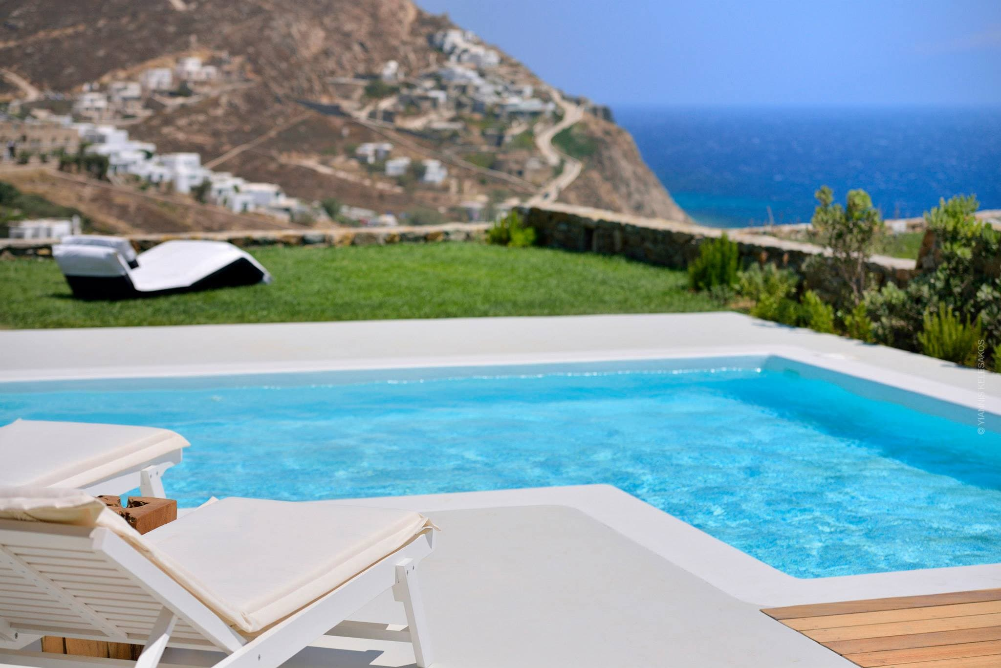 Property Image 2 - Modern Greek Villa with Private pool and Outdoor heated jacuzzi