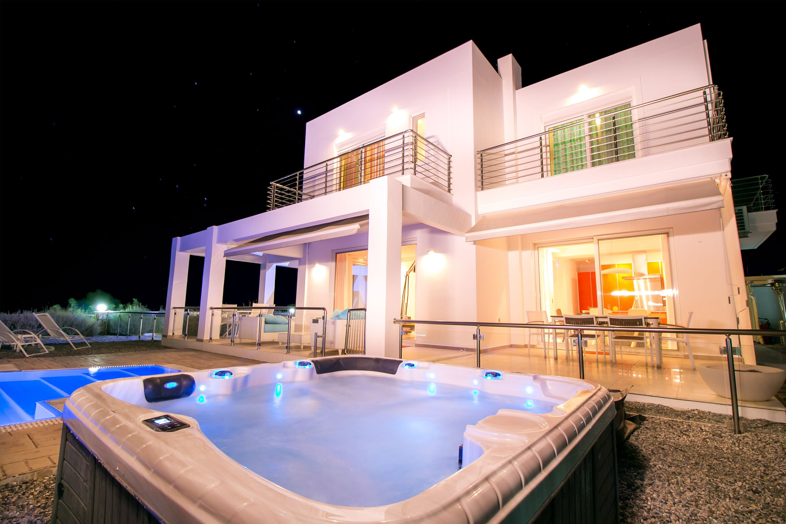 Property Image 2 - Elegant 3 bedroom villa with private pool and Jacuzzi