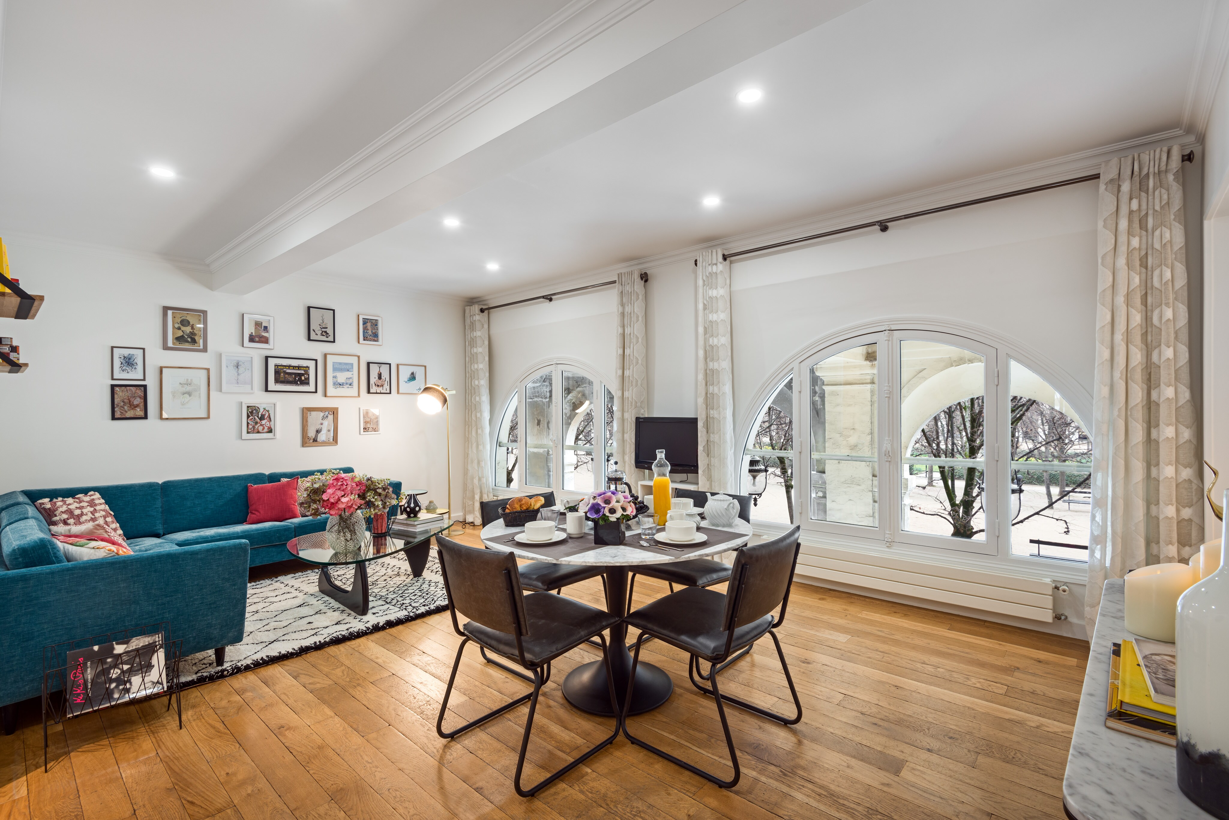 Property Image 1 - Beautiful, Modern Apartment with Garden Views; Walk to The Louvre