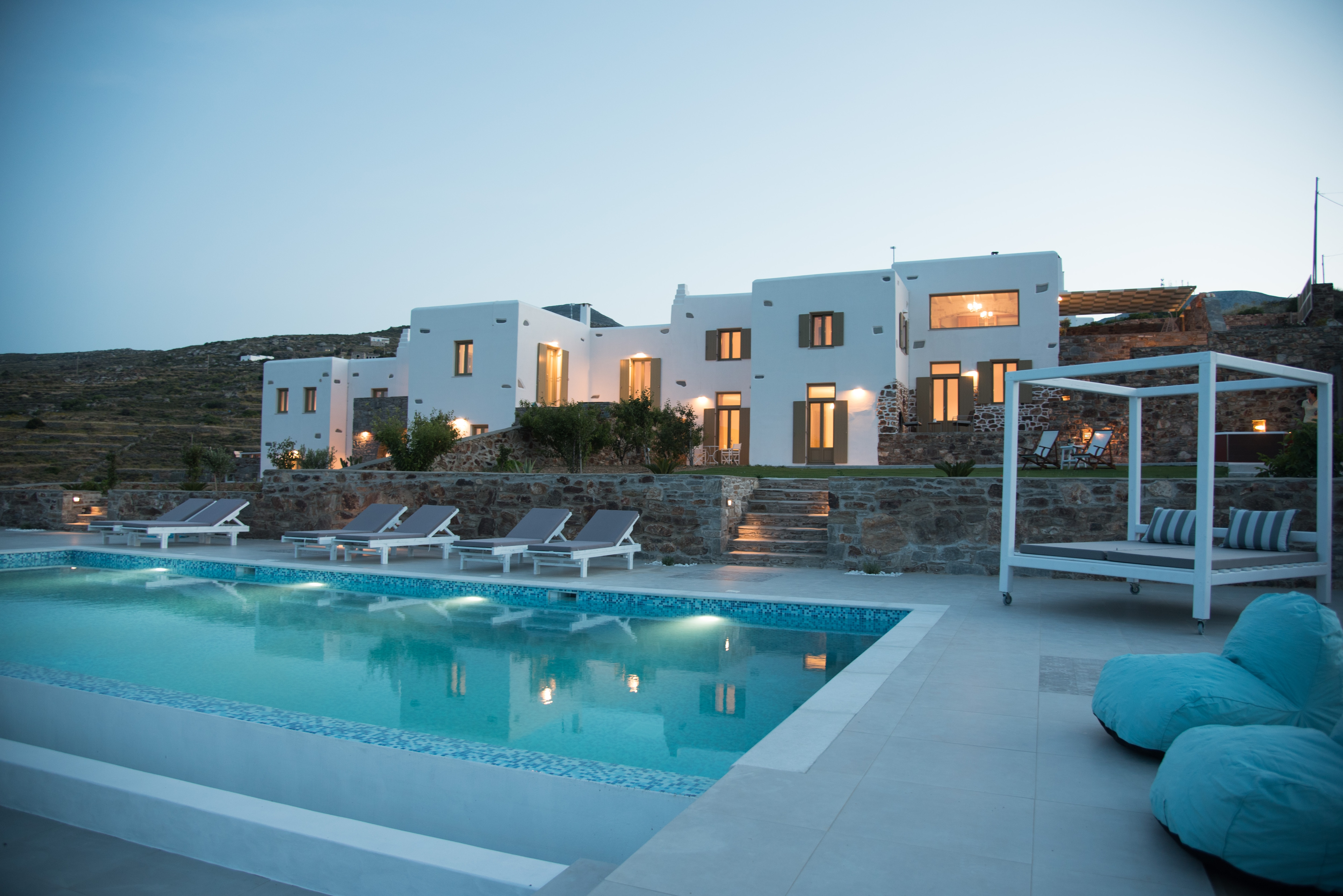 Property Image 1 - Hilltop complex of three villas with private pool and jacuzzi