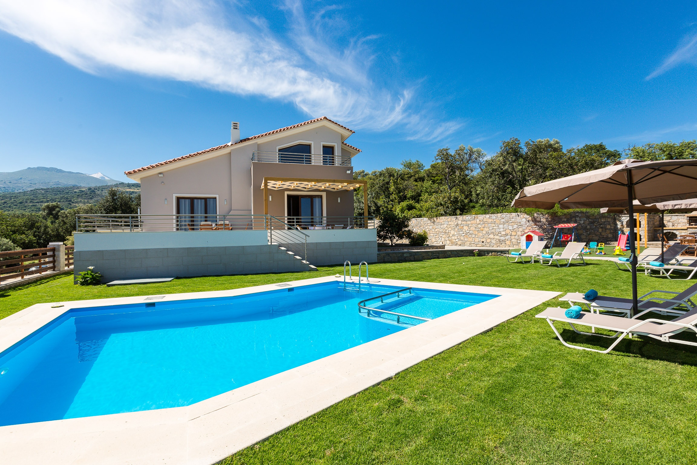 Property Image 1 - Tranquil Modern Villa with Private Pool & Landmark Views