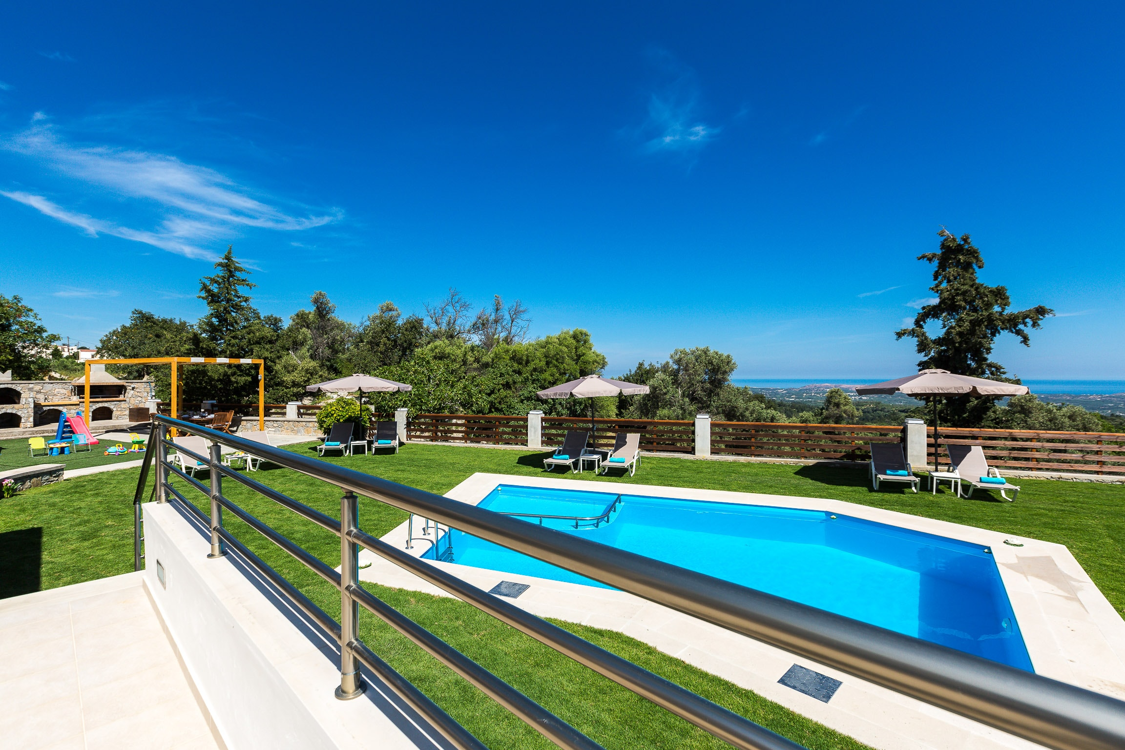 Property Image 2 - Tranquil Modern Villa with Private Pool & Landmark Views