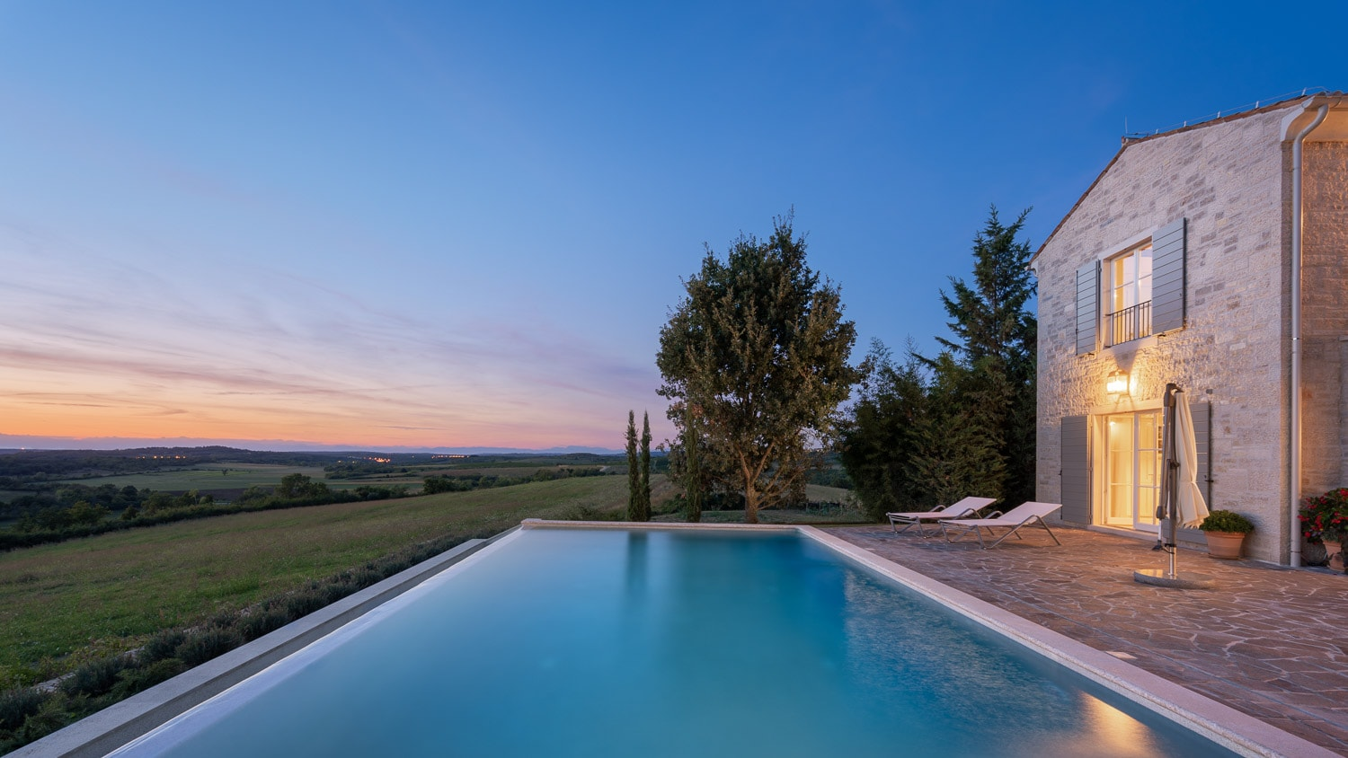 Property Image 1 - Five Star Luxury Stone Villa in Croatia's Wine Country