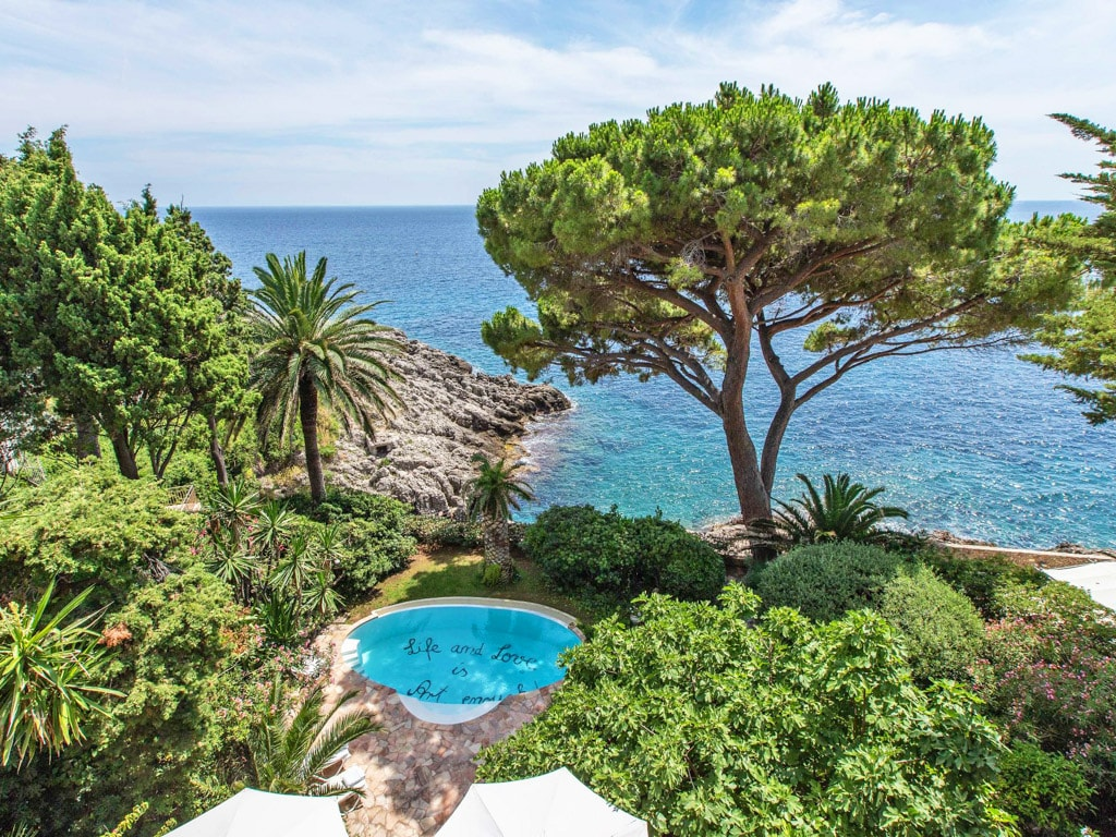 Property Image 1 - Historic Waterfront Villa Near Monaco with Pool & Sea View