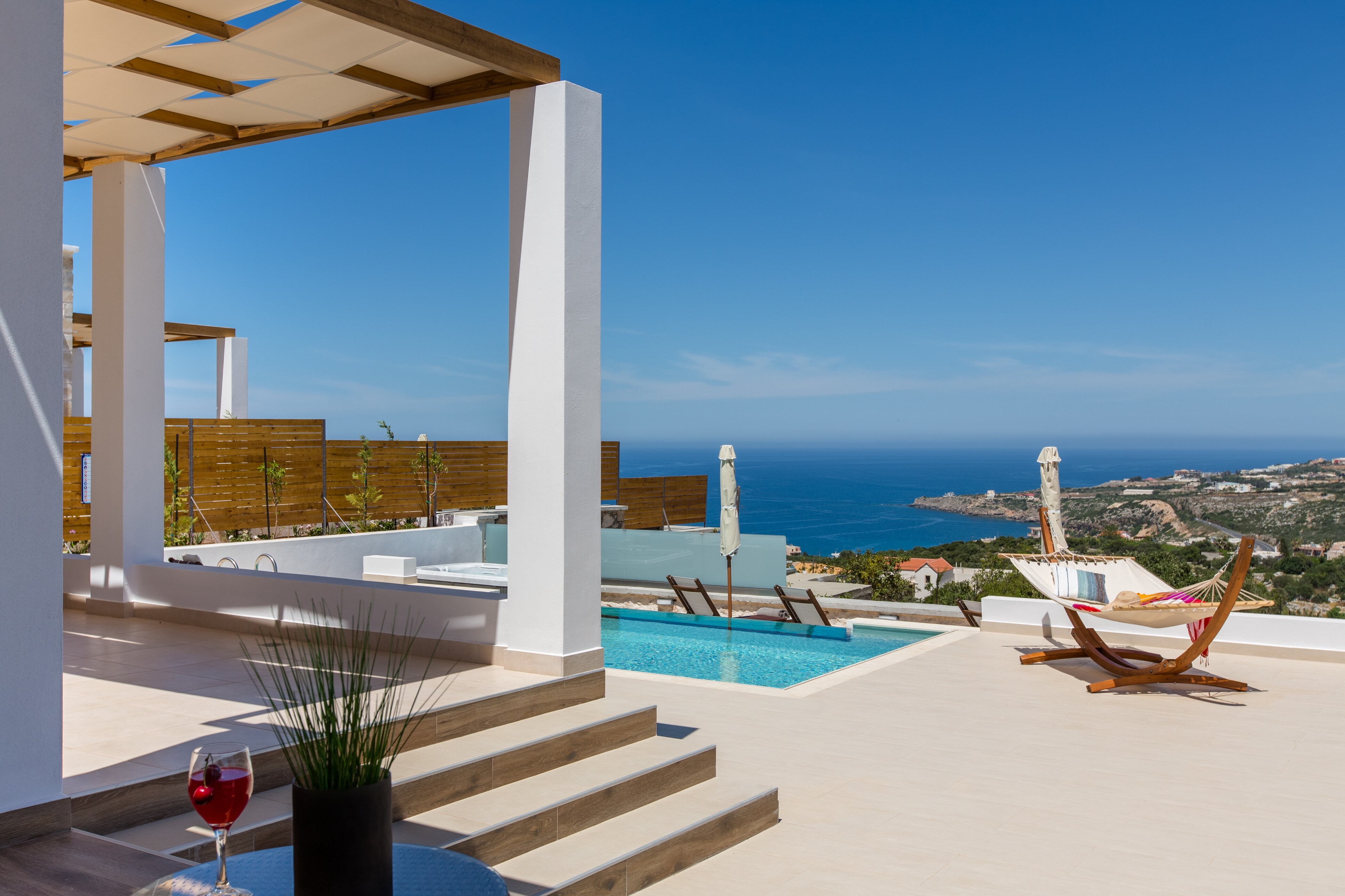 Remarkable Ocean View Villa with Private Heated Pool and Jacuzzi