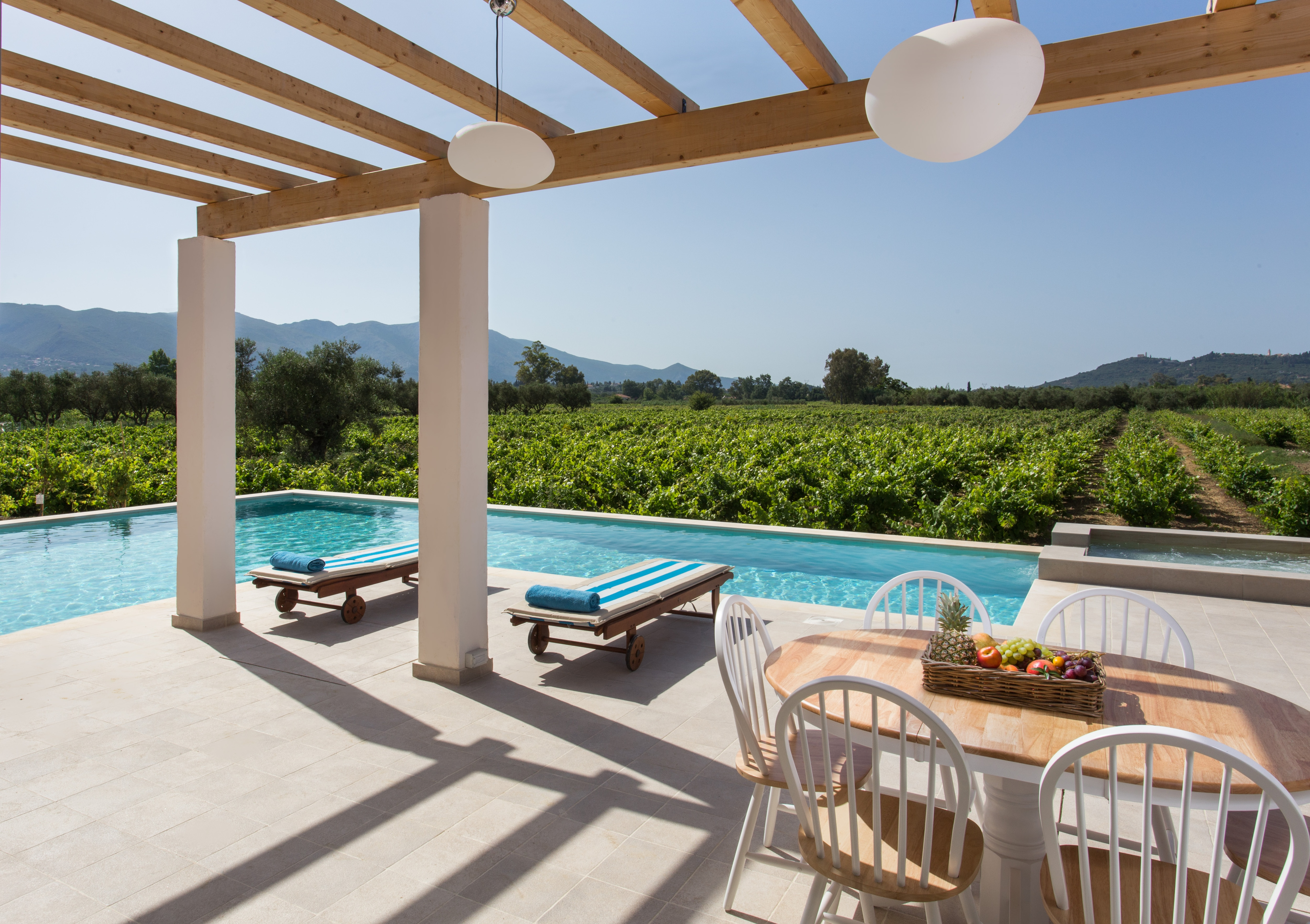 Luxury country house with vineyards and private pool