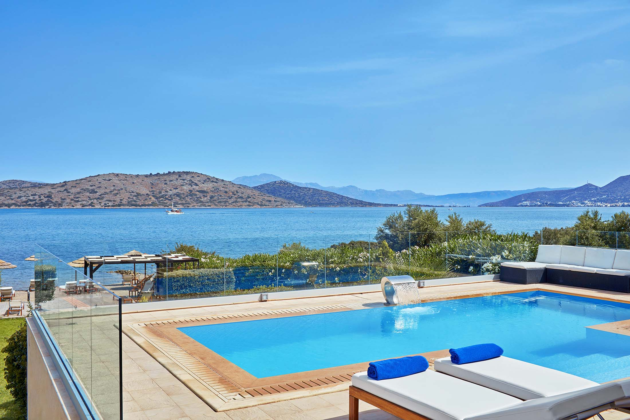 Property Image 1 - Peaceful, Elegant Villa with Pool, Terrace & Private Beach