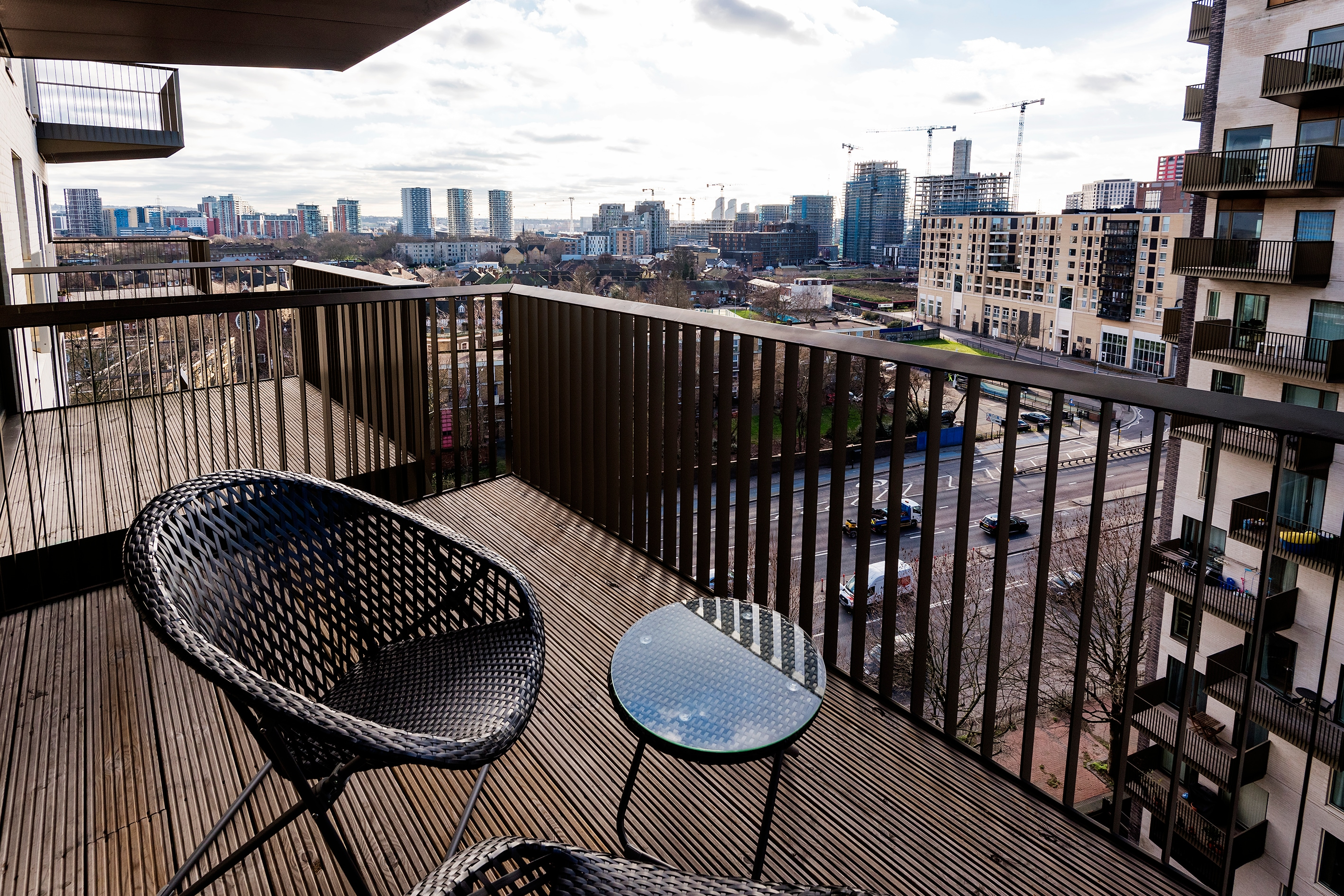 Property Image 2 - Bright East London Home with Stunning Views
