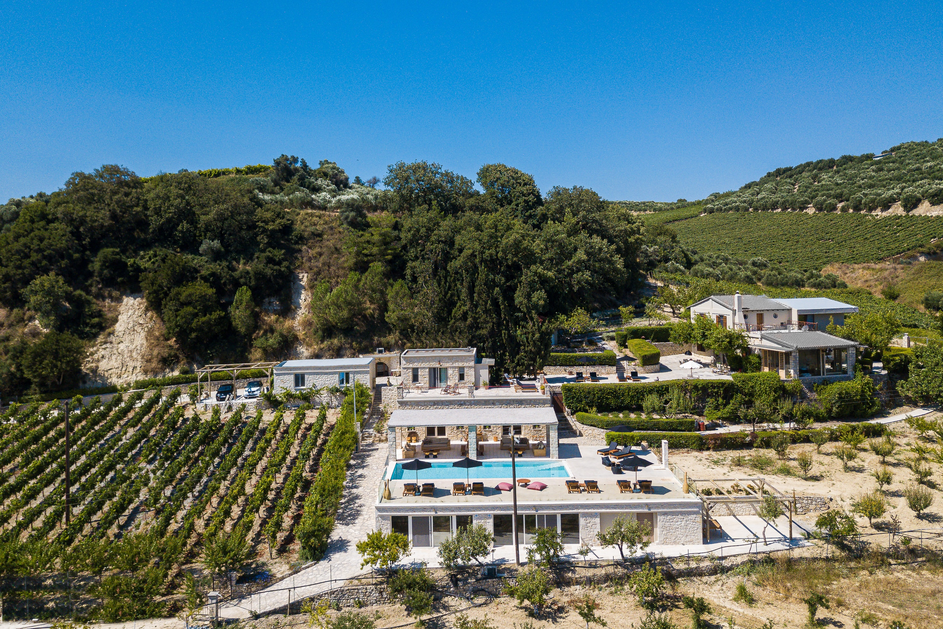 Captivating Wine Estate with Two Private Pools & 9Bedrooms