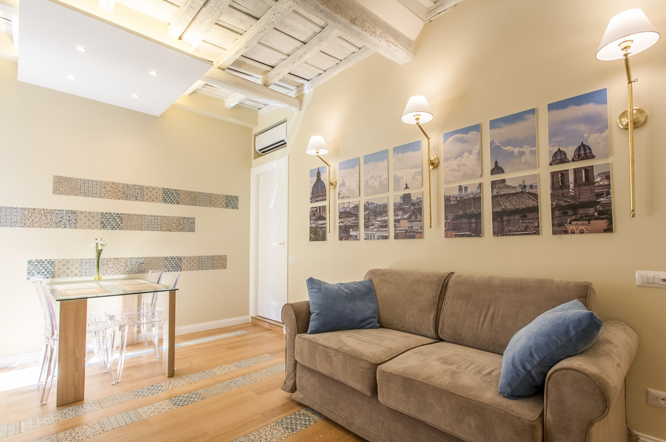 Modern Two Bedroom Apartment in Central Rome