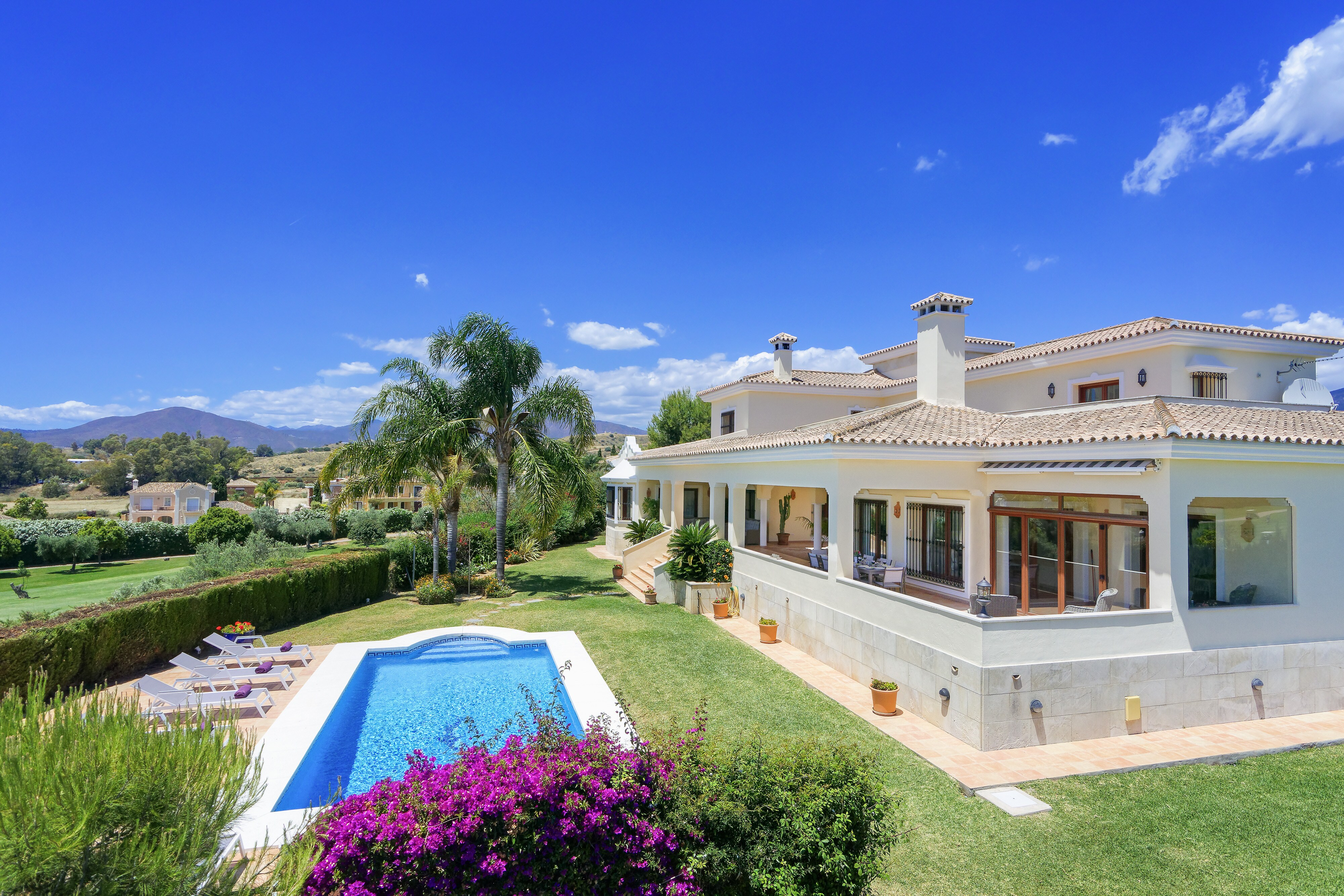Charming villa located in the heart of Mijas Golf