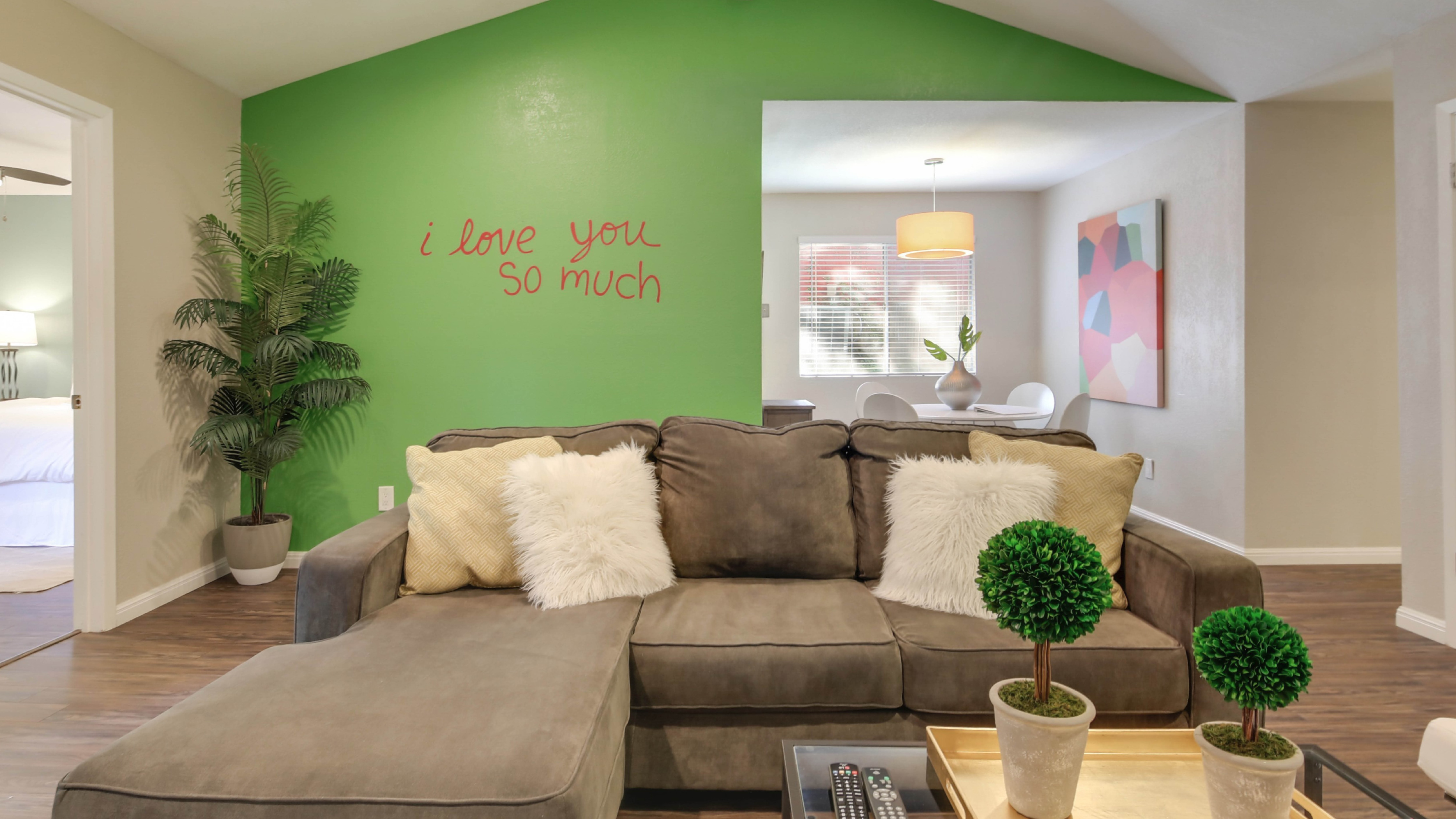 "South Lamar Duplex with Iconic ""i love you so much"" Mural"