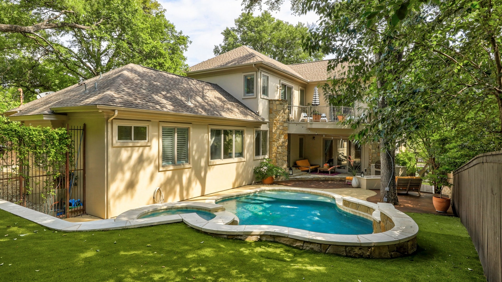 Spacious Austin Estate w/ Heated Pool, Hot Tub, + Home Theater