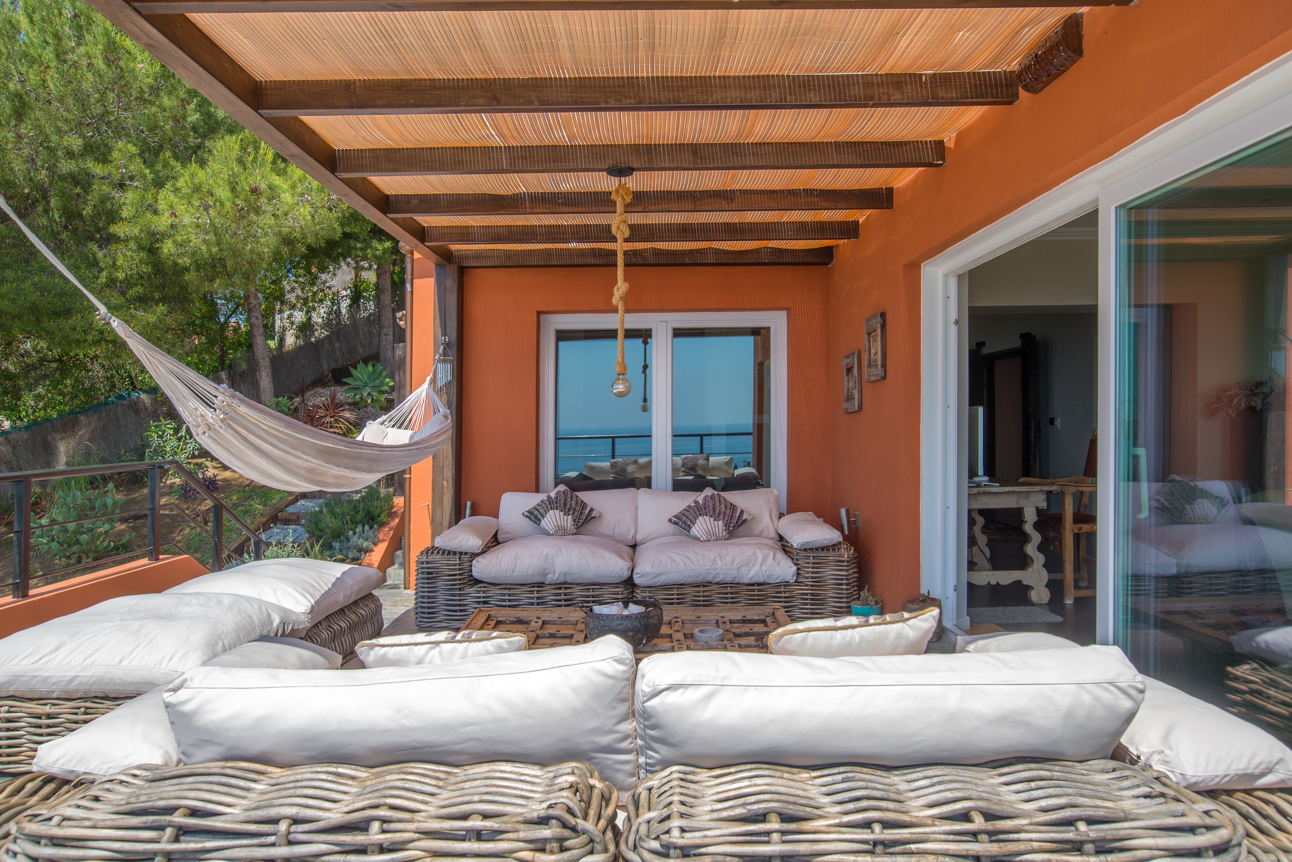 Family villa with indoor and outdoor pool and children´s play area