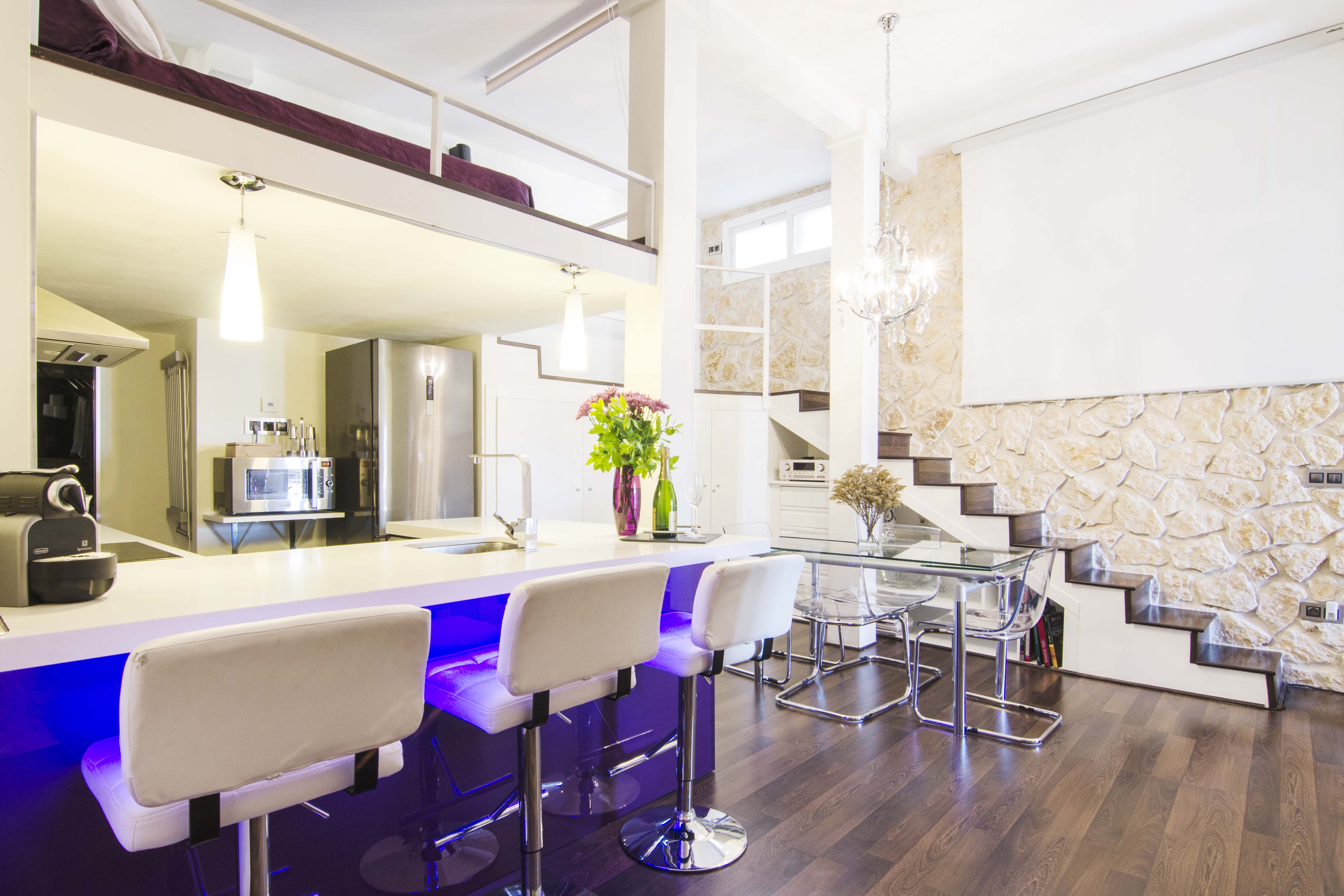 Property Image 1 - Design 1 Bedroom Loft in Heart of Madrid