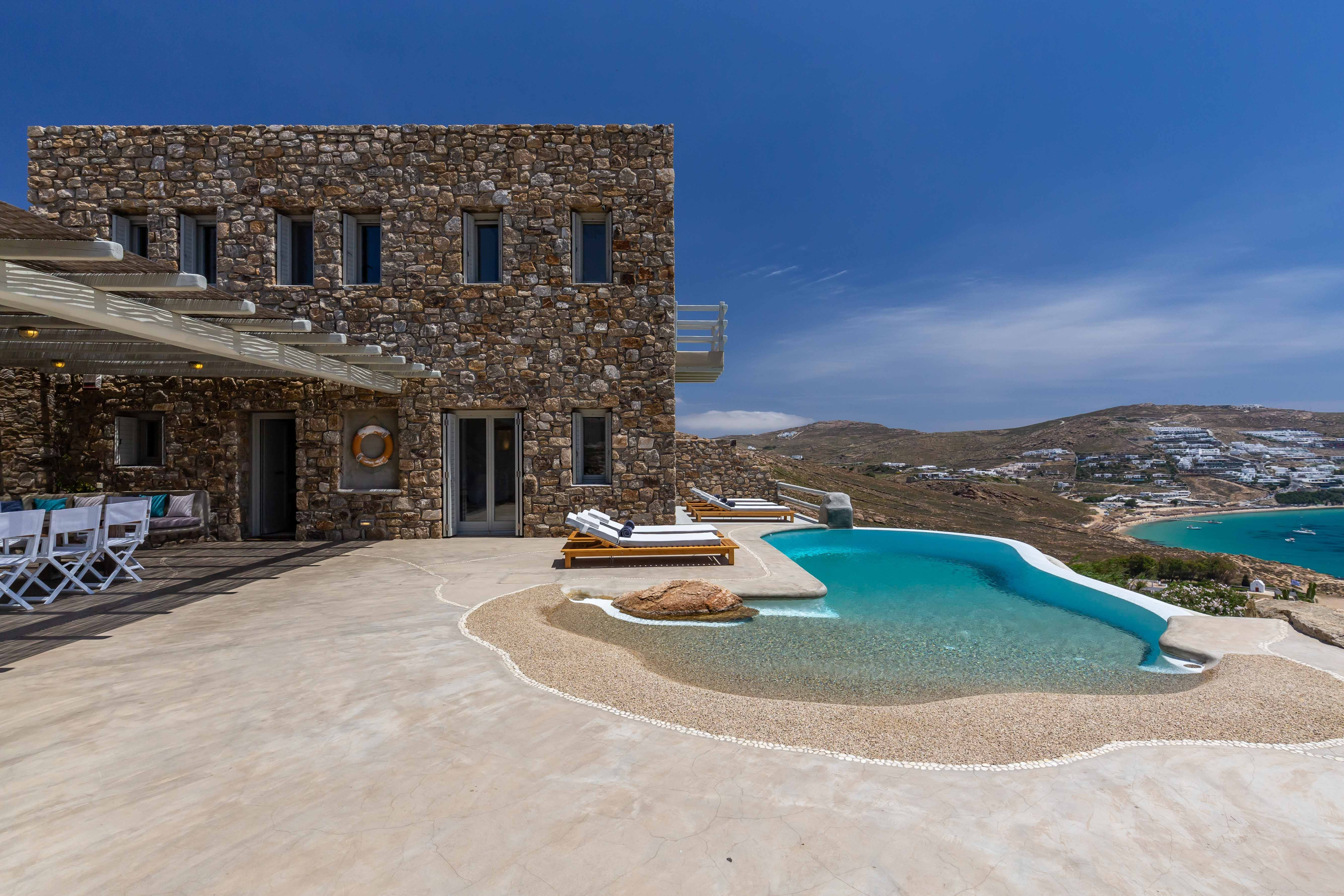 Property Image 1 - Stunning sea view villa with private pool