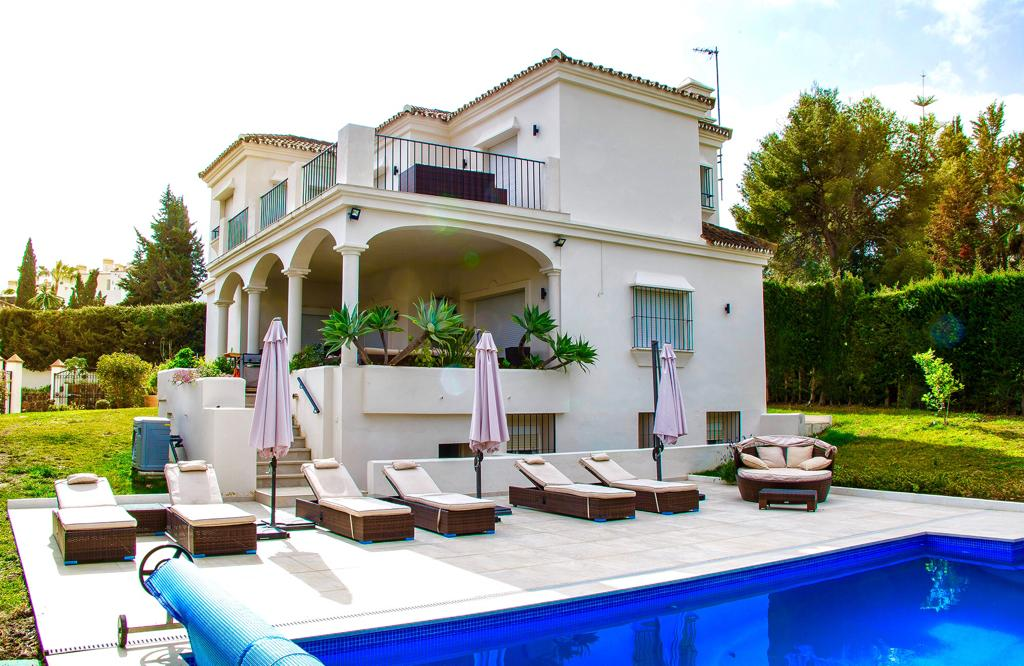 Tranquil family gem close to the beach in Marbella