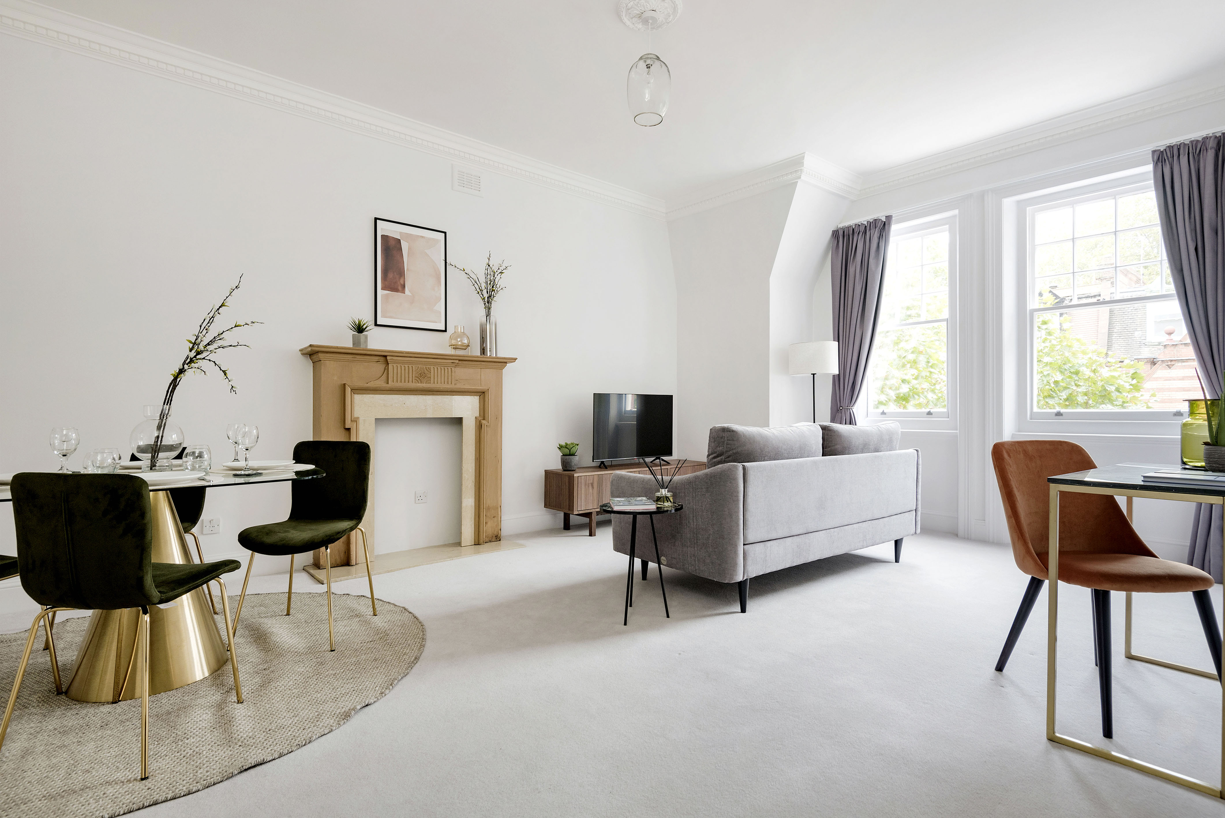 Sophisticated Cadogan Apartment next to Sloane Square