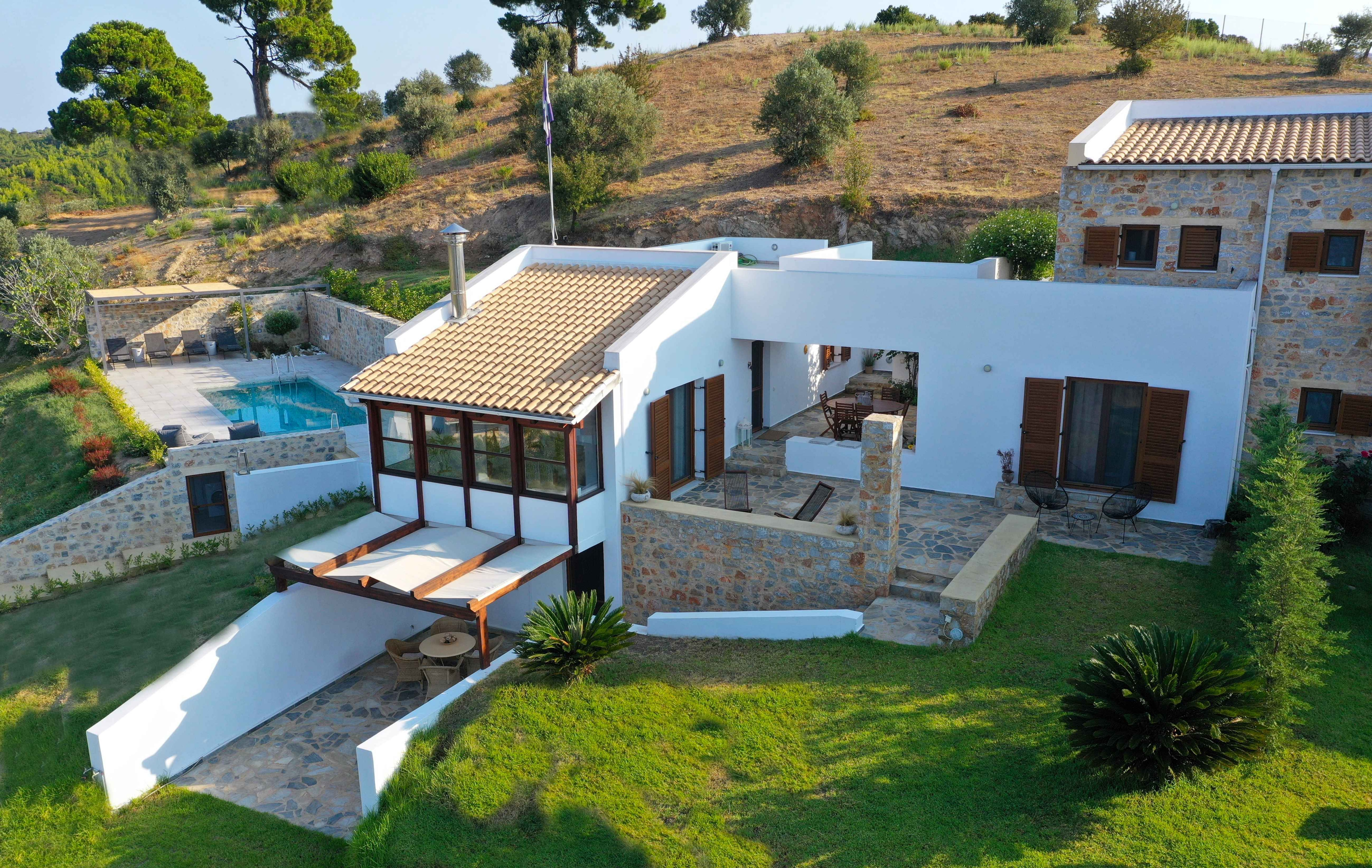 Property Image 2 - Aegean Sea View Idyllic Villa with Alfresco Dining