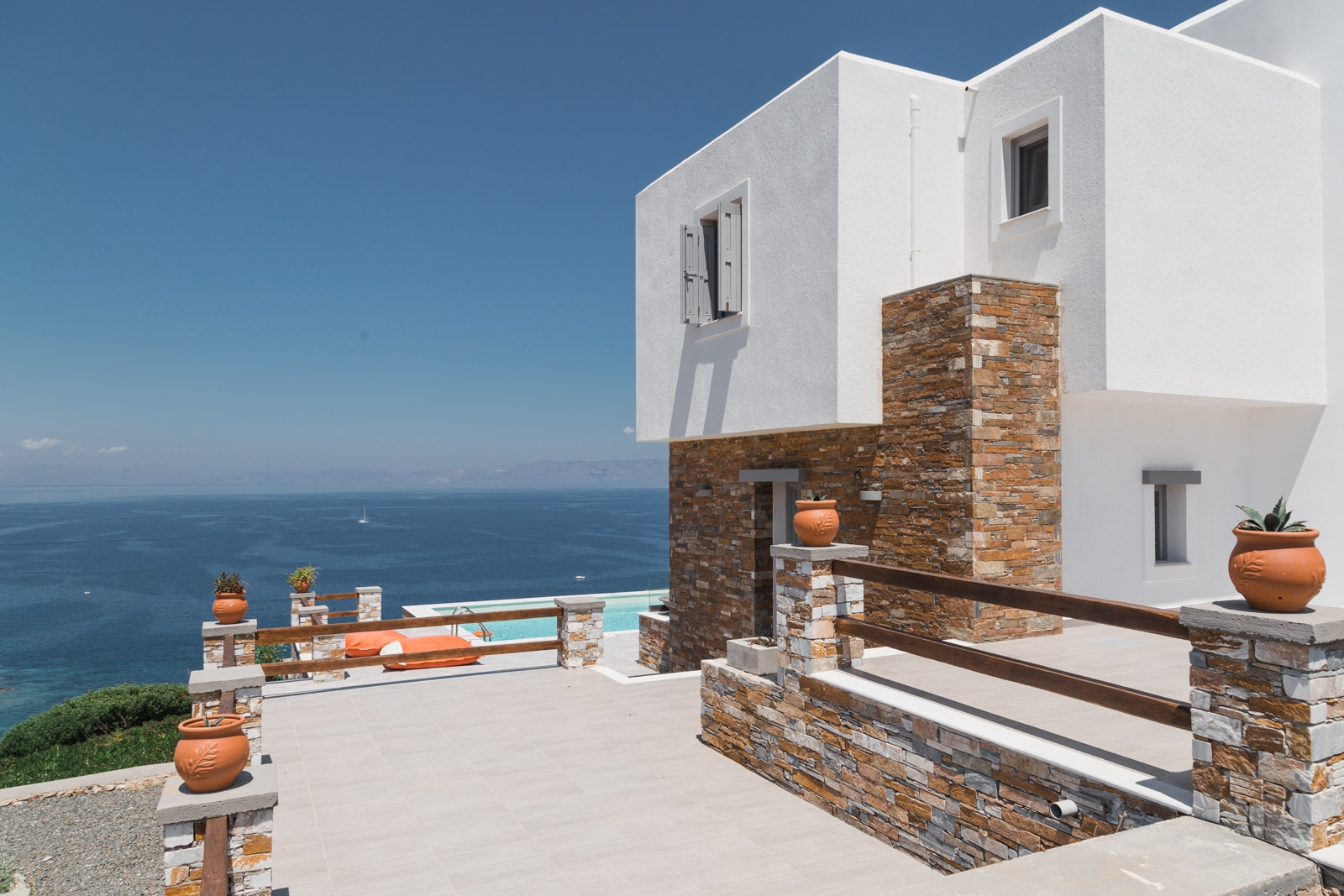 Property Image 2 - Lovely Stone Villa with a Panoramic Sea View