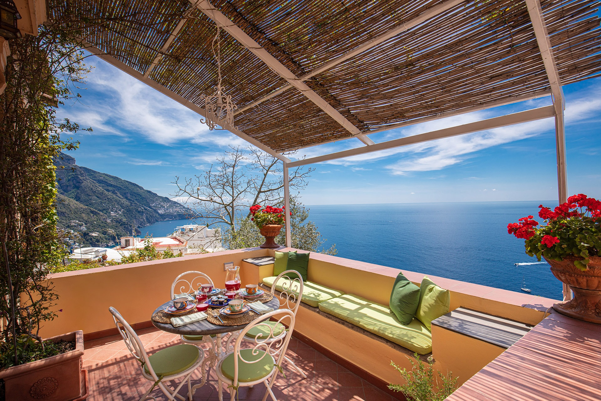 Property Image 2 - Noble Elevated Villa Overlooking the Mediterranean