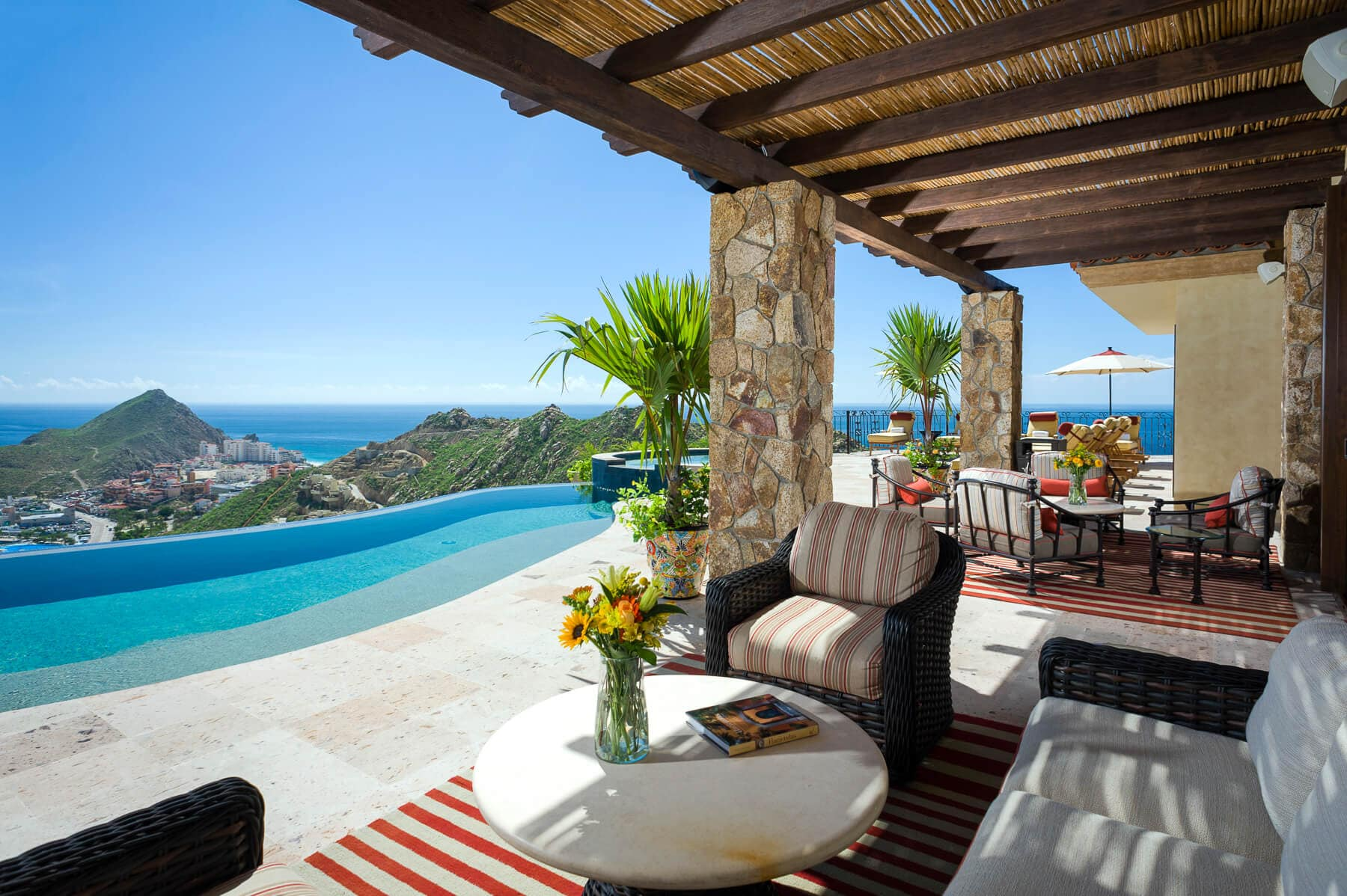Property Image 2 - Idyllic Hillside Getaway in Pedregal for Large Groups