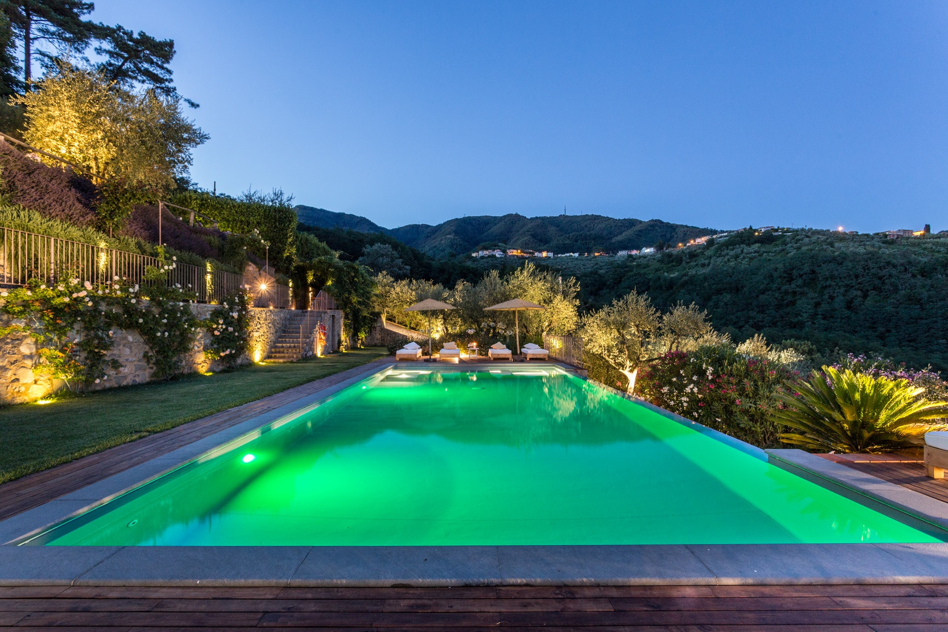 Property Image 2 - Hilltop Enchanting Farmhouse with Infinity Pool