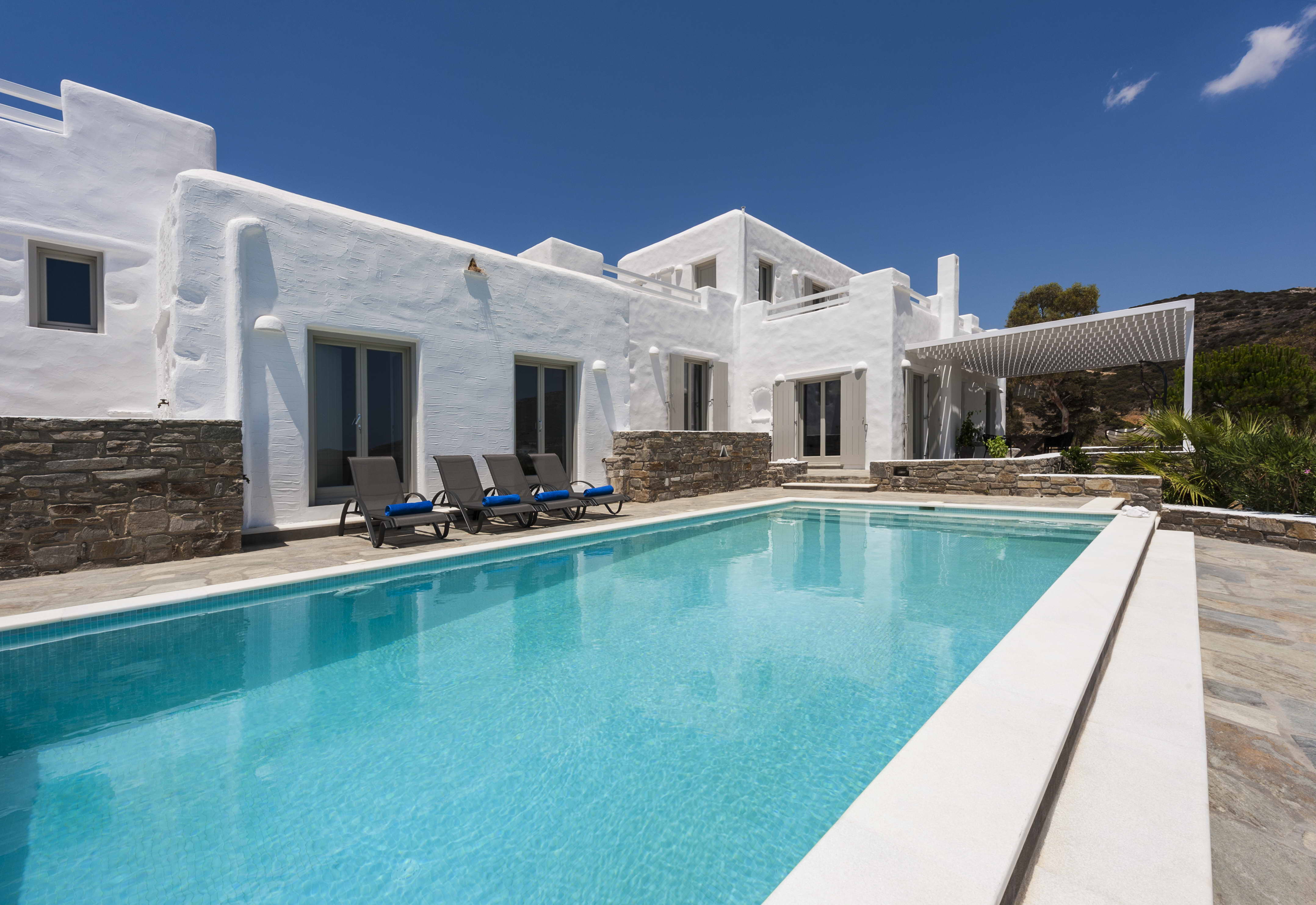 Property Image 2 - Relaxing Posh Villa with Extravagant Aegean Sea View