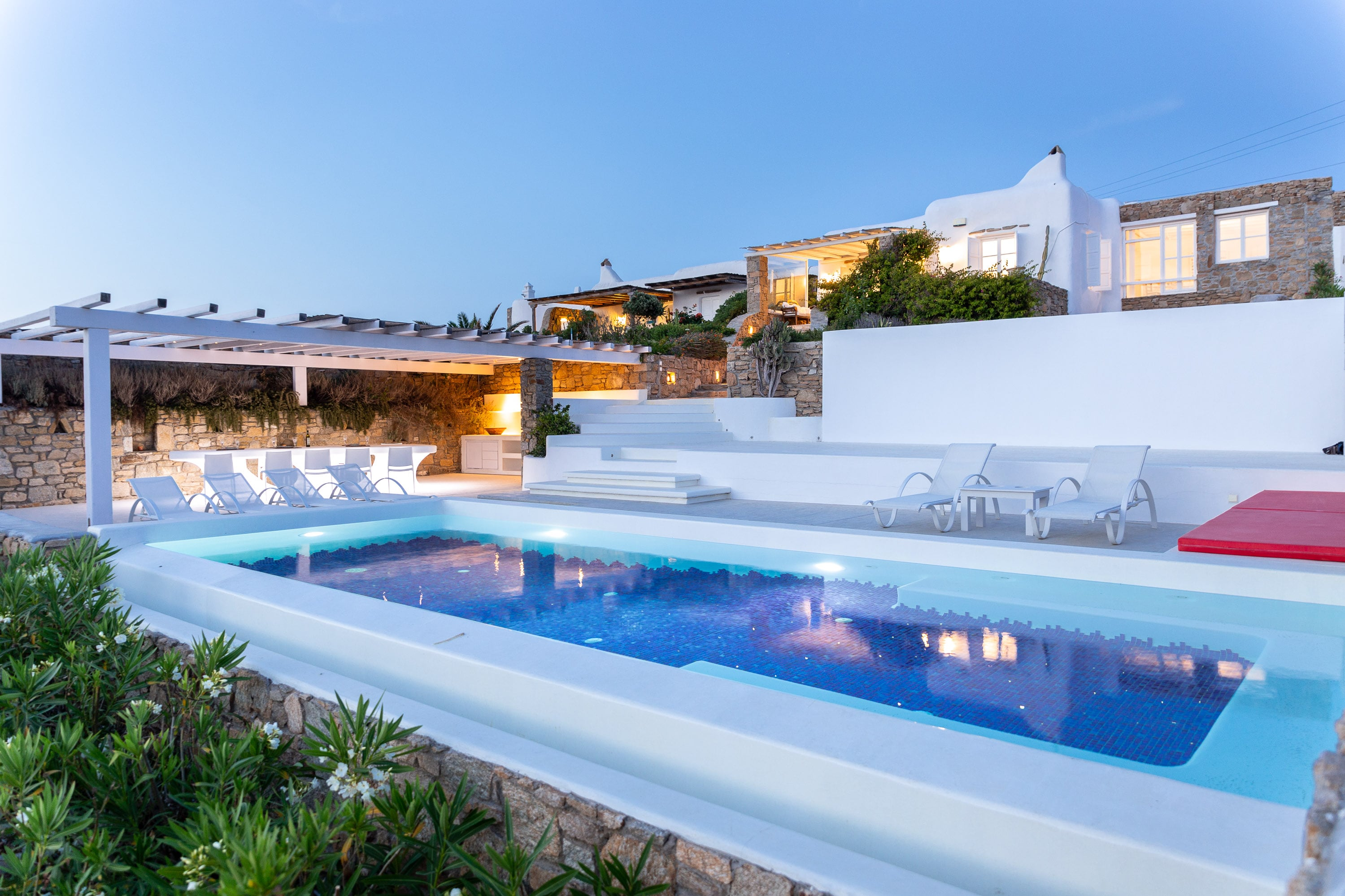 Property Image 2 - Glorious Luxury Villa with Pool on Mykonos
