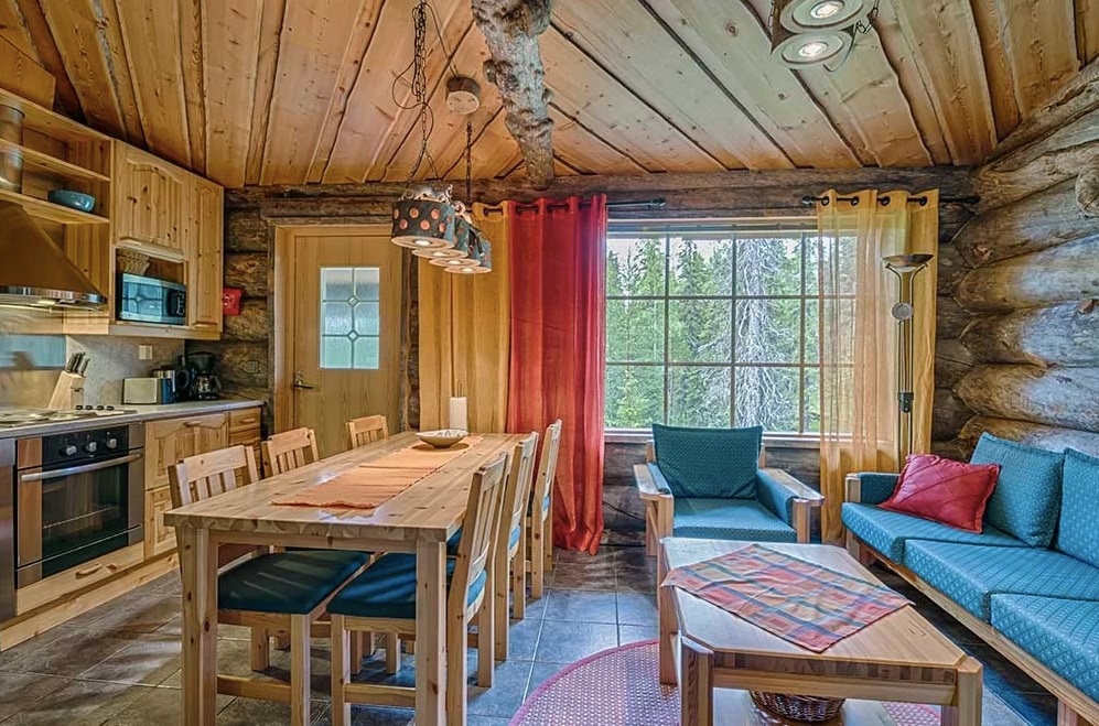 Property Image 2 - Peaceful Log and Semi-Detached Cottage in Ruka