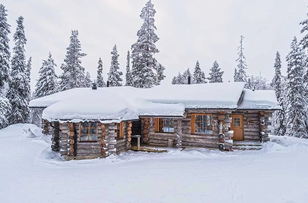 Property Image 1 - Peaceful Log and Semi-Detached Cottage in Ruka