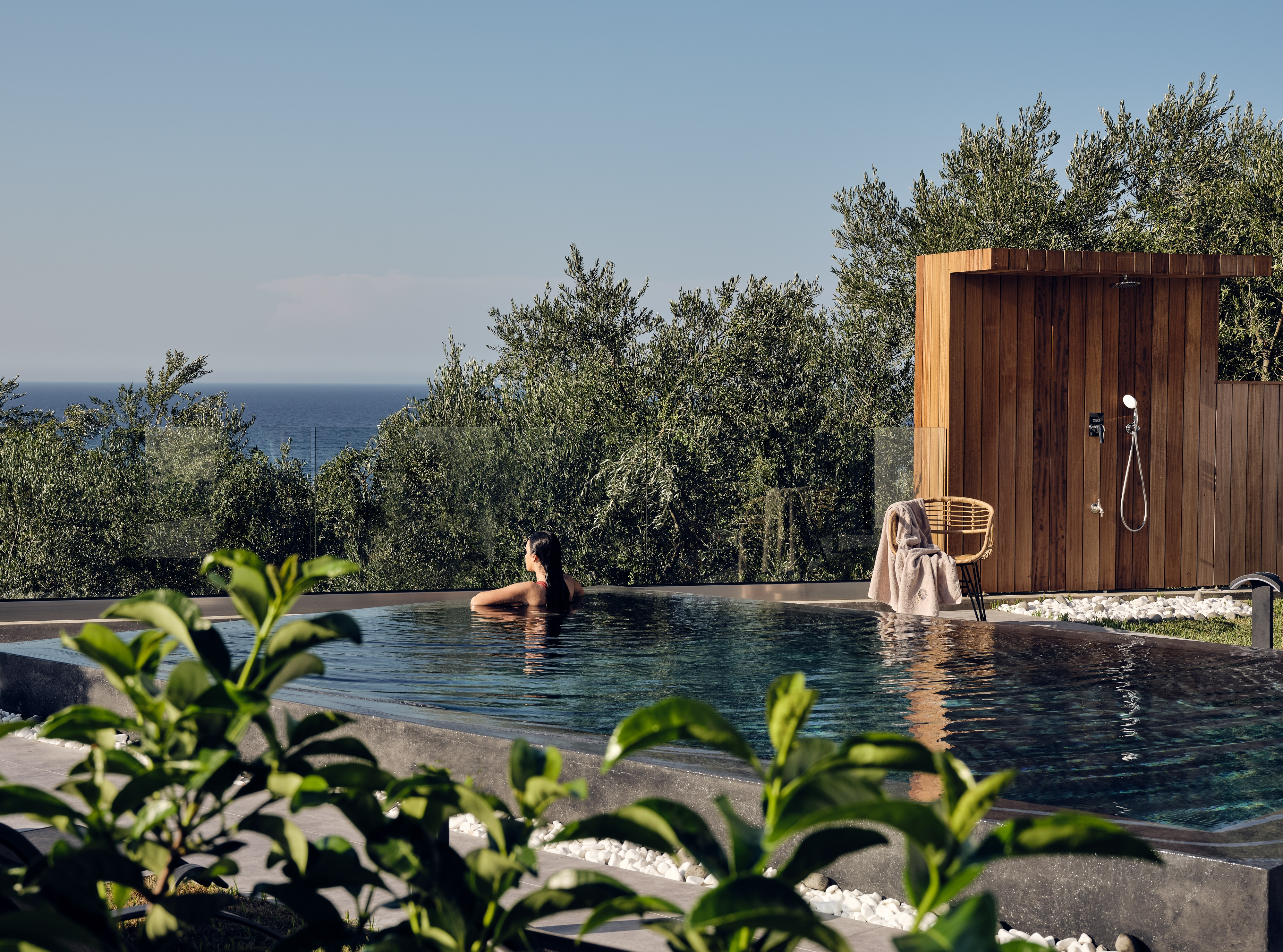 Property Image 1 - Remarkable Sea View Retreat with Private Pool & Sensory Design