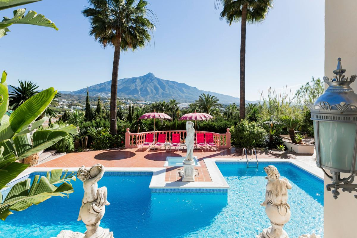 Property Image 2 - Unique Grand Style Villa with Sauna and Pool near Puerto Banus