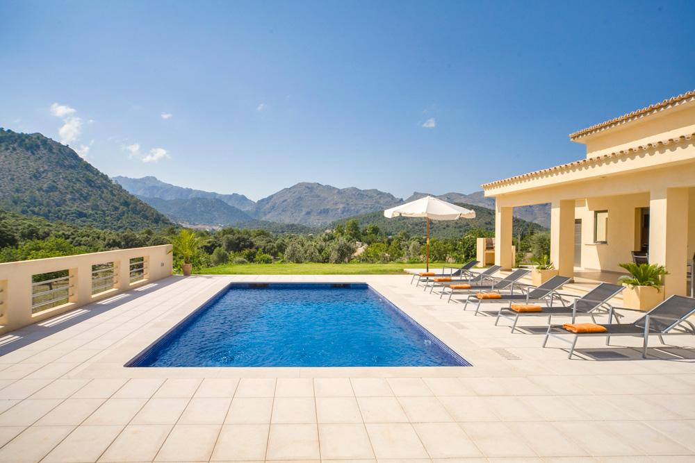 Property Image 1 - Spectacular Modern Villa with Panoramic Mountain Views and Pool