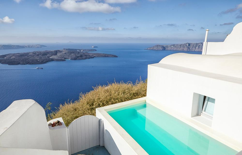 Property Image 1 - Classic Santorini Villa with Private Plunge Pool