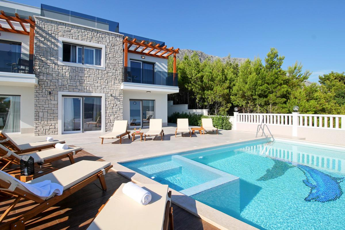 Property Image 1 - Relaxing Star Glazing Villa in the Dalmatian Coast