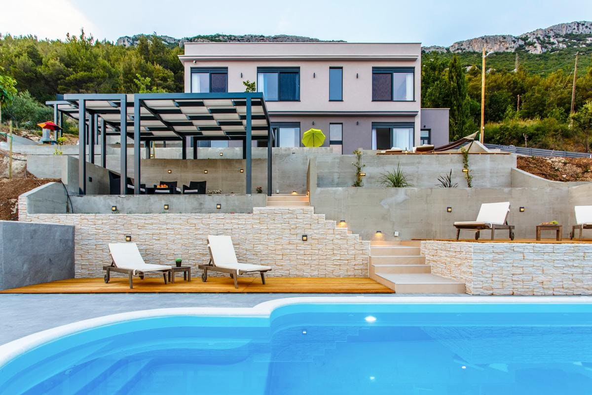 Property Image 1 - Stunning Design Inspired Villa near Split